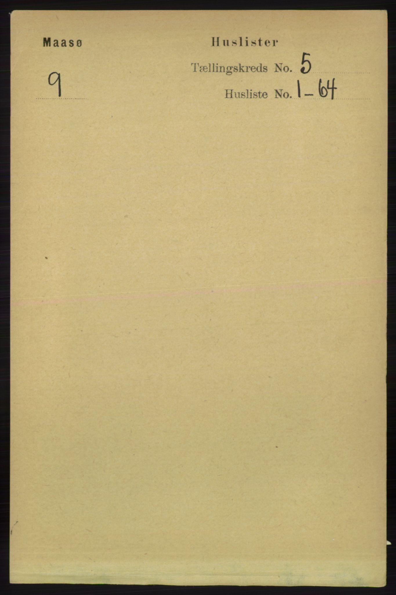 RA, Folketelling 1891 for 2018 Måsøy herred, 1891, s. 654