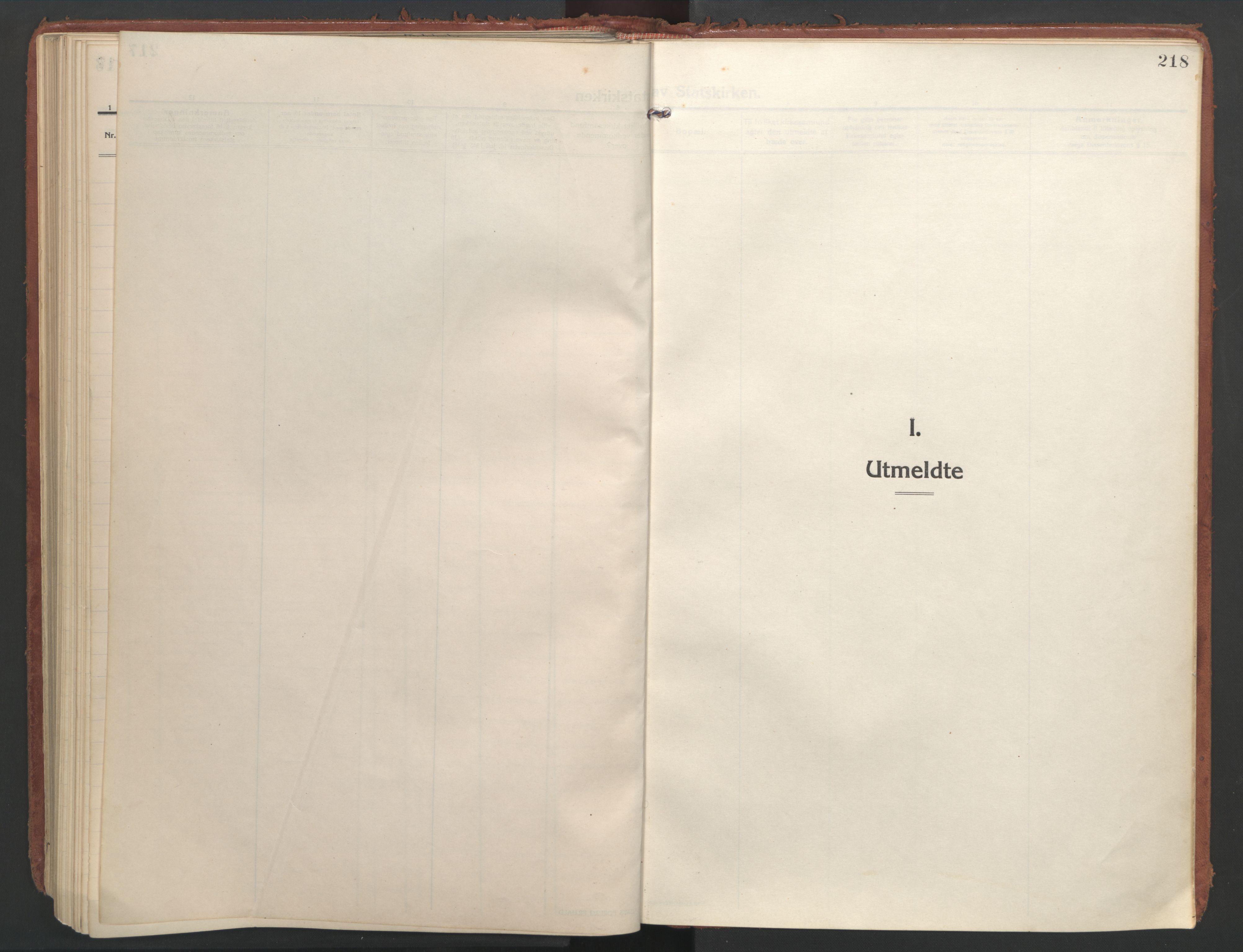 SAT, Ministerialprotokoller, klokkerbøker og fødselsregistre - Nordland, 804/L0086: Ministerialbok nr. 804A07, 1916-1935, s. 218