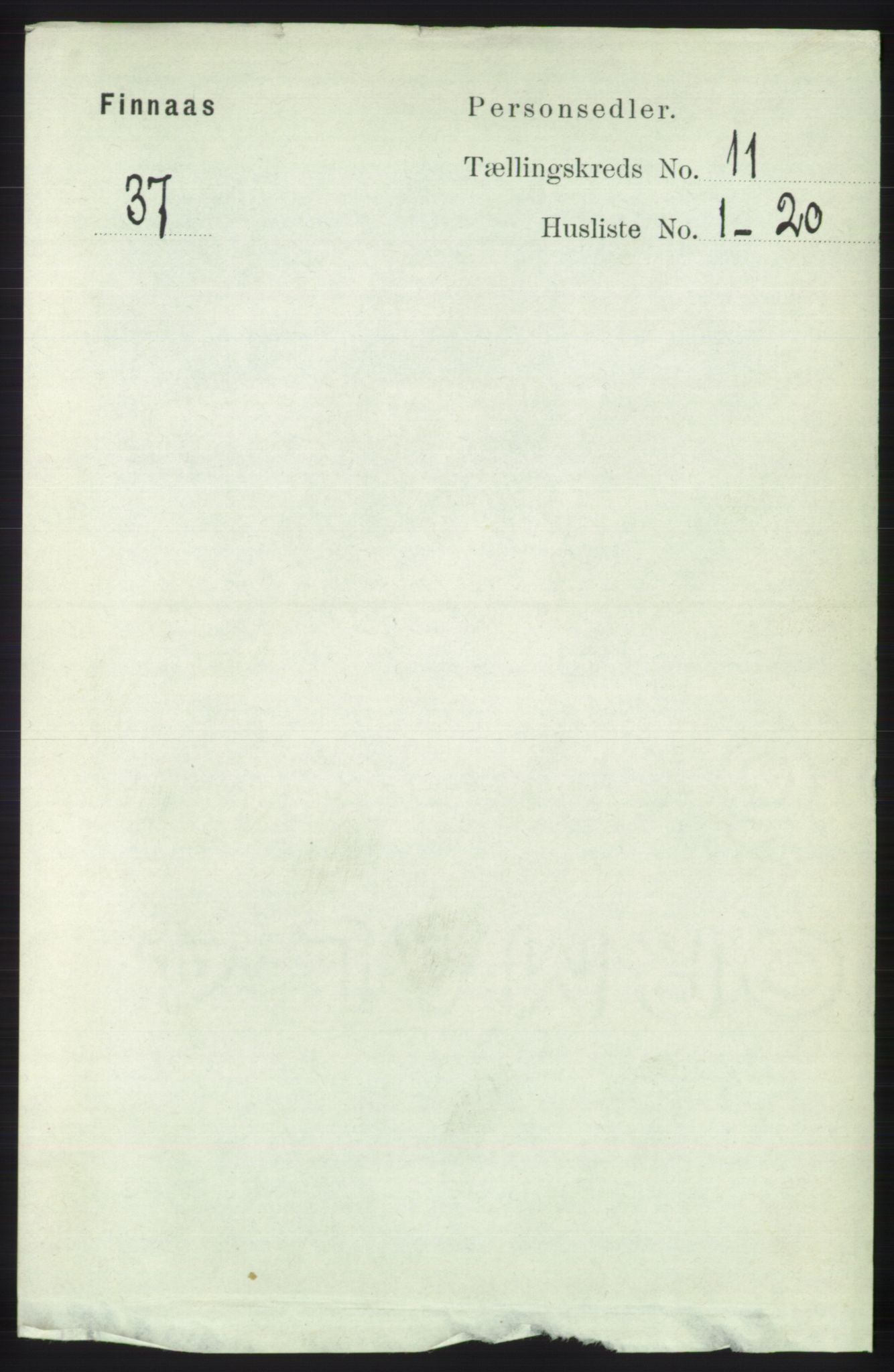RA, Folketelling 1891 for 1218 Finnås herred, 1891, s. 5123