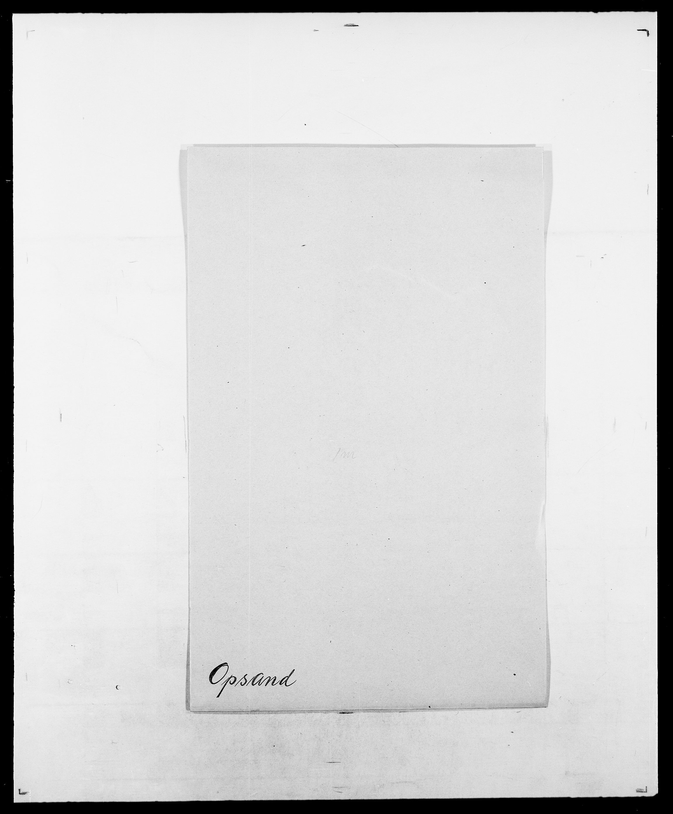 SAO, Delgobe, Charles Antoine - samling, D/Da/L0029: Obel - Oxholm, s. 391