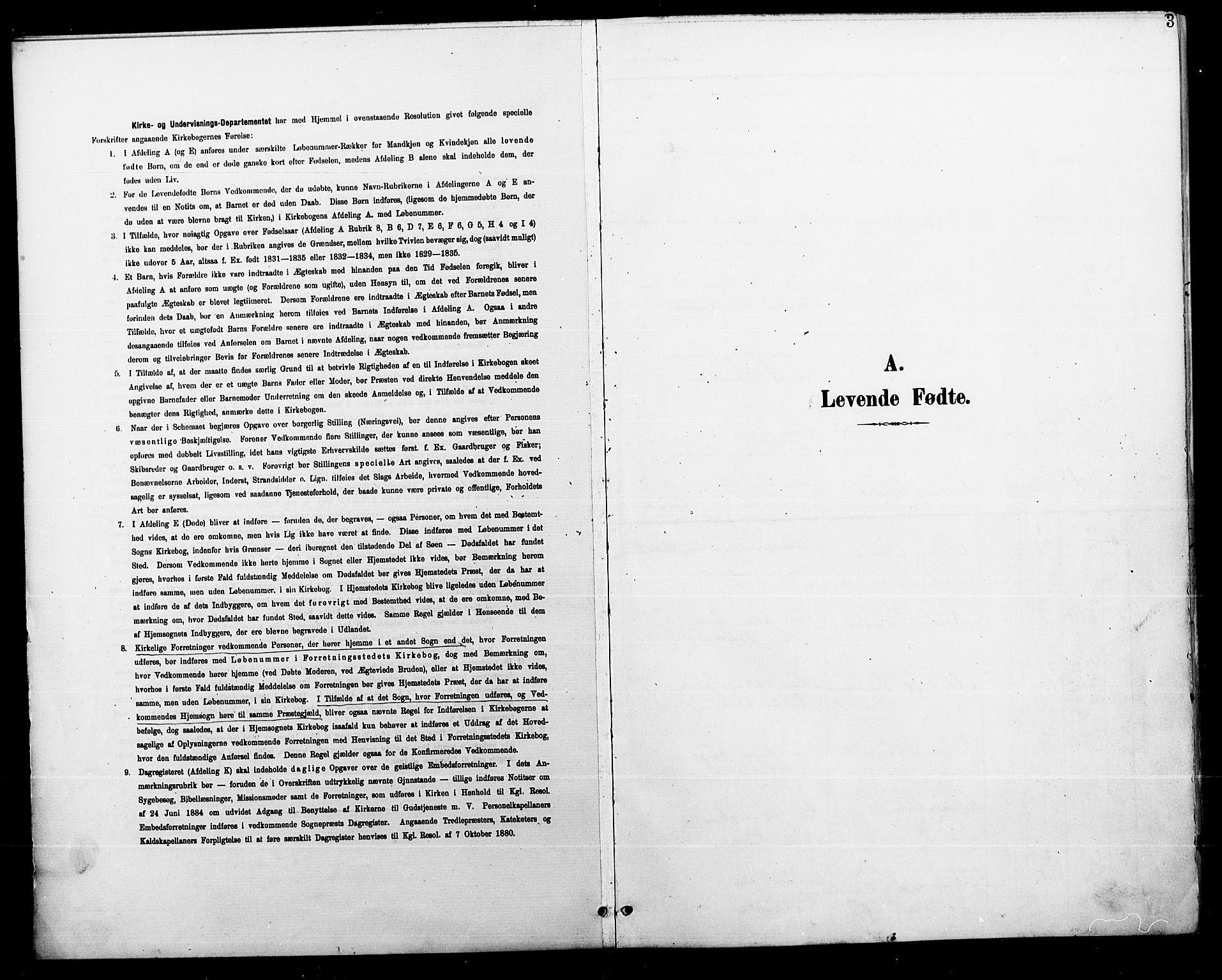 SAT, Ministerialprotokoller, klokkerbøker og fødselsregistre - Nordland, 804/L0088: Klokkerbok nr. 804C01, 1901-1917, s. 3