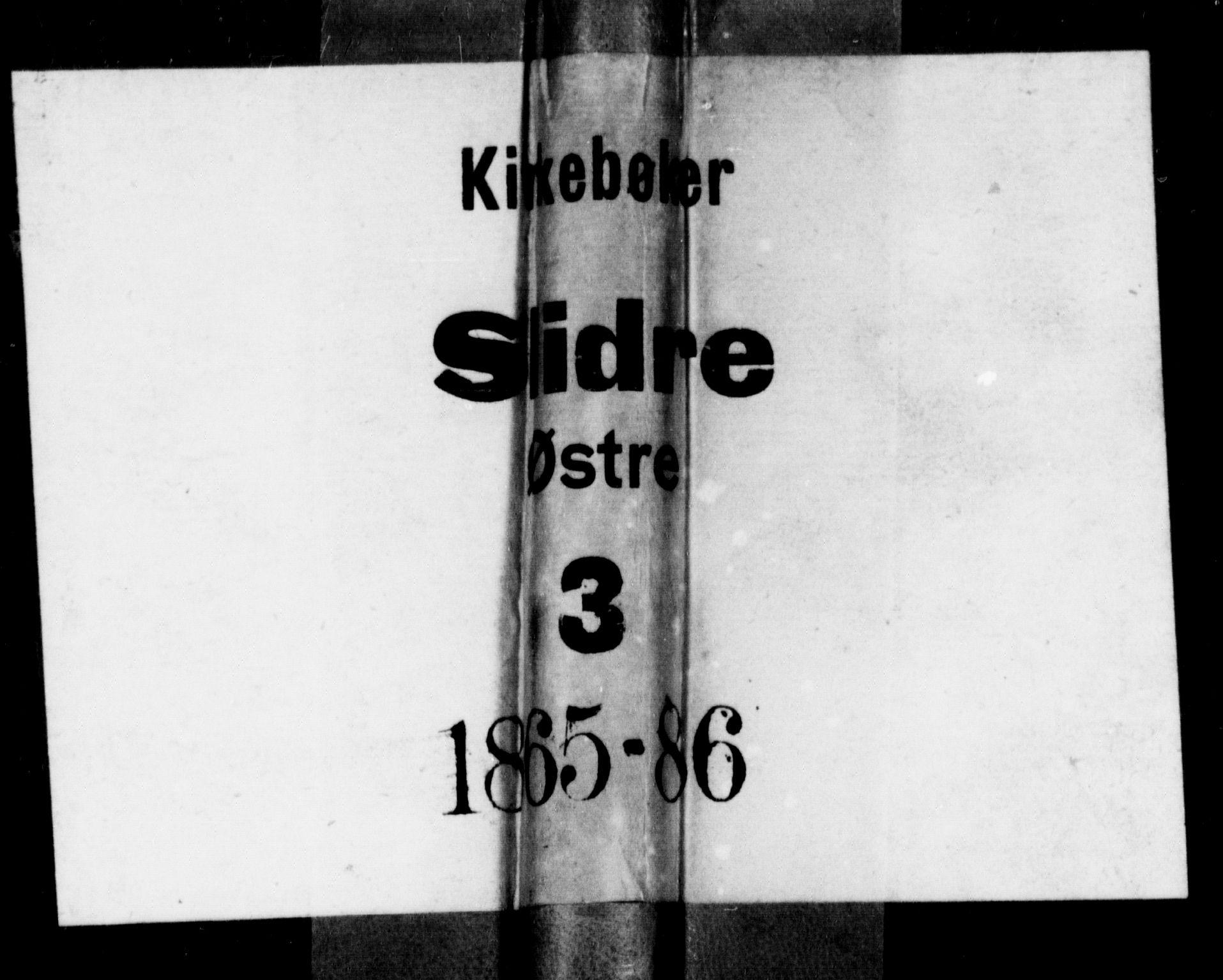 SAH, Øystre Slidre prestekontor, Klokkerbok nr. 2, 1866-1886
