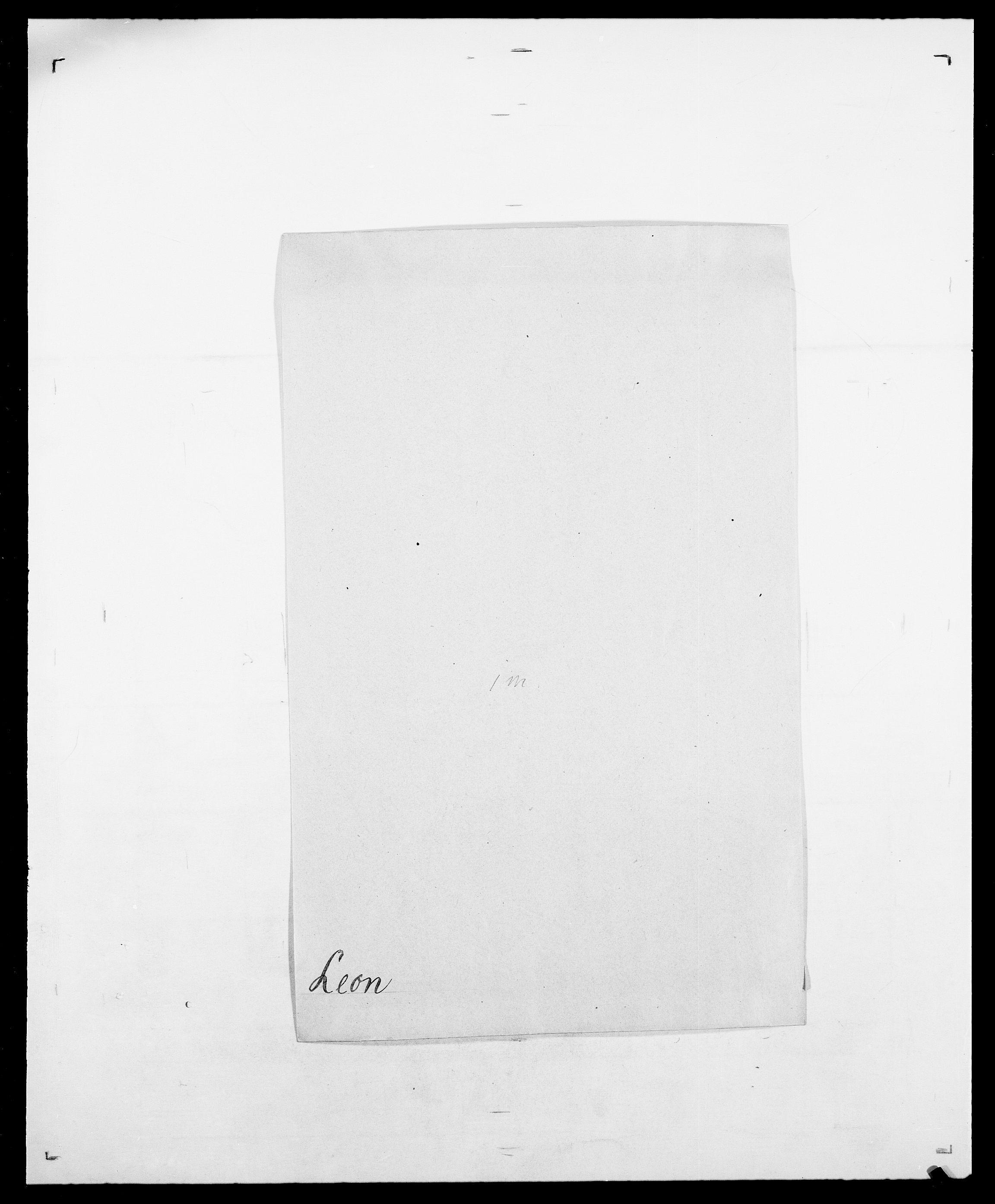 SAO, Delgobe, Charles Antoine - samling, D/Da/L0023: Lau - Lirvyn, s. 229