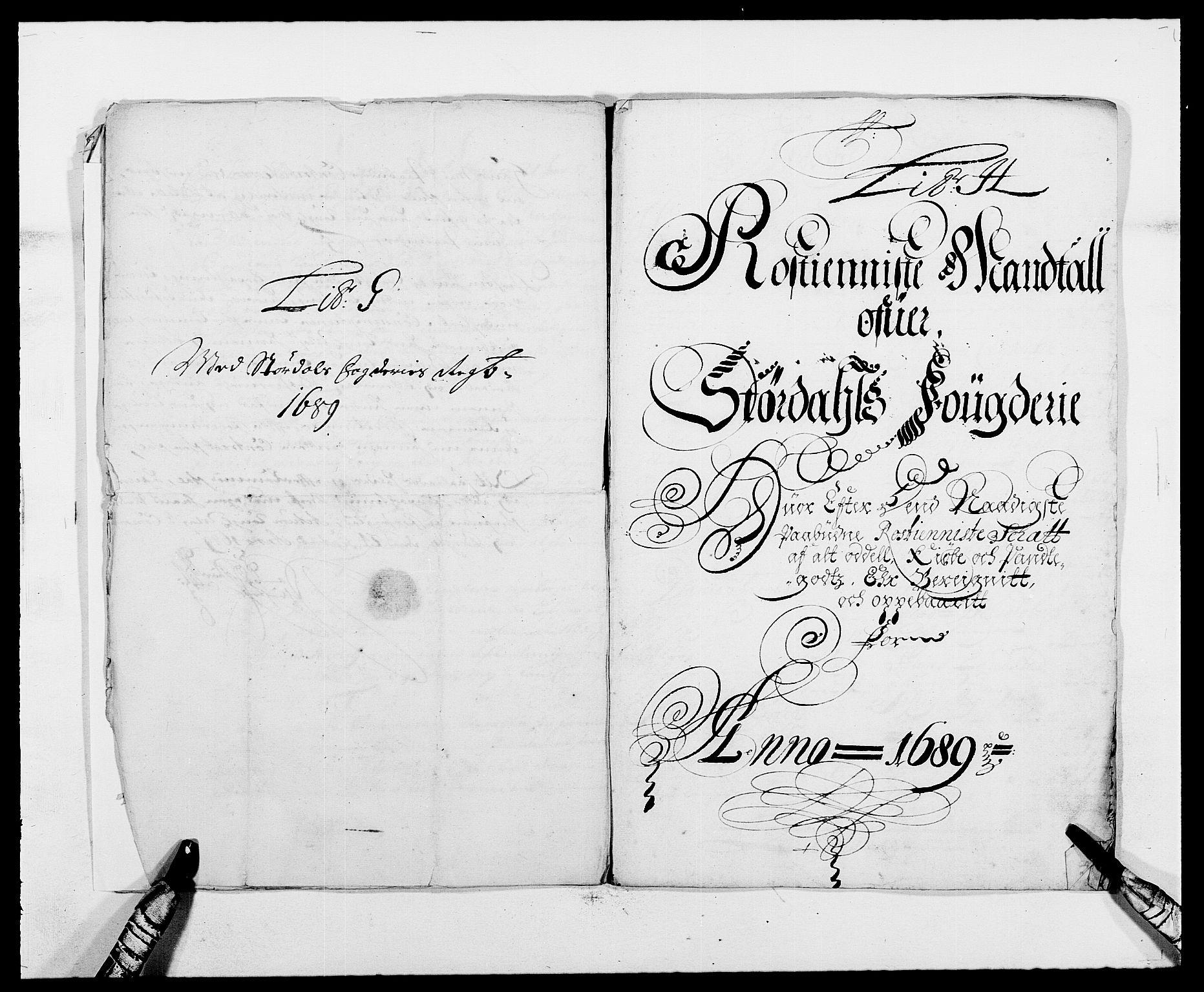 RA, Rentekammeret inntil 1814, Reviderte regnskaper, Fogderegnskap, R62/L4183: Fogderegnskap Stjørdal og Verdal, 1687-1689, s. 359