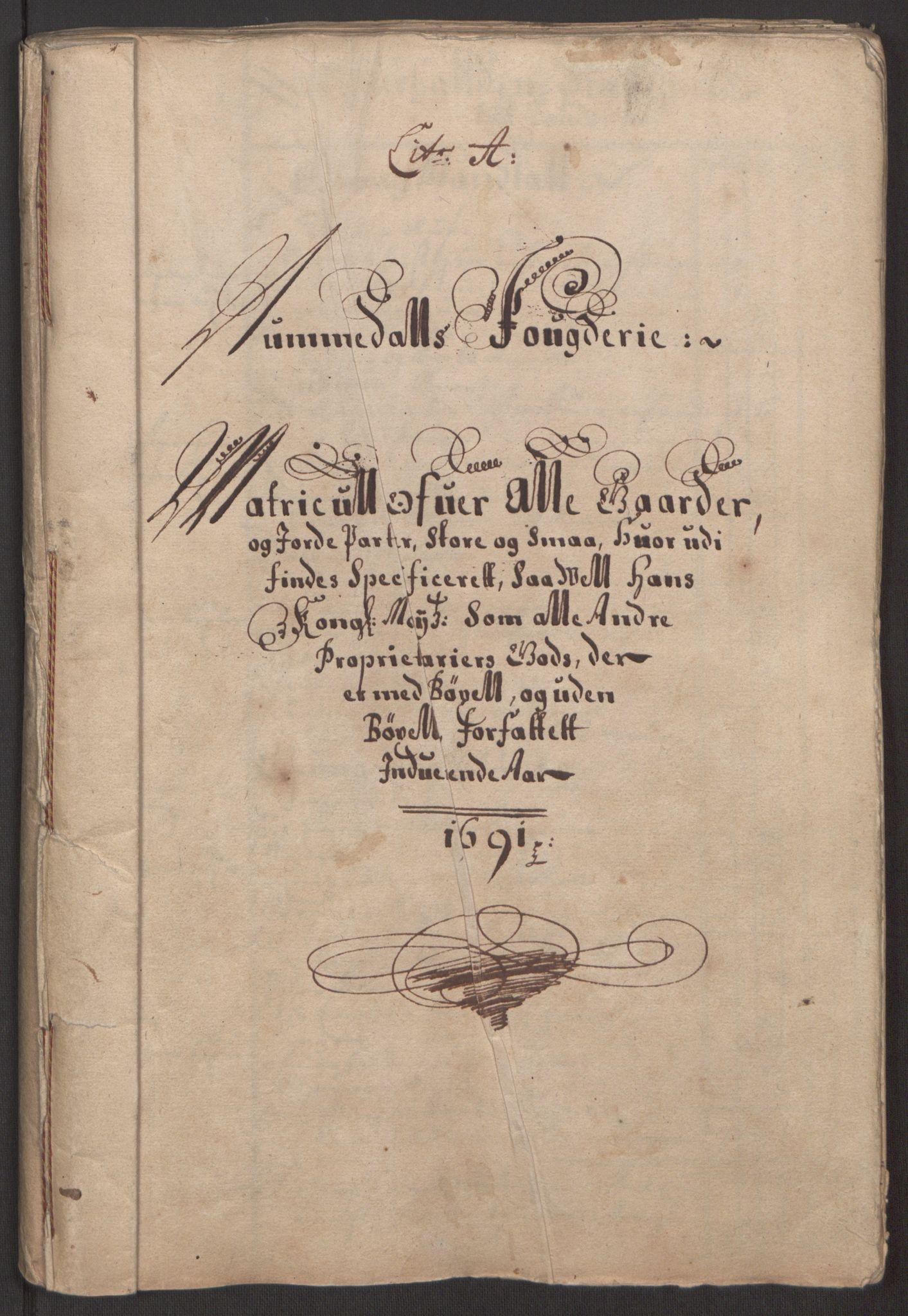 RA, Rentekammeret inntil 1814, Reviderte regnskaper, Fogderegnskap, R64/L4423: Fogderegnskap Namdal, 1690-1691, s. 140