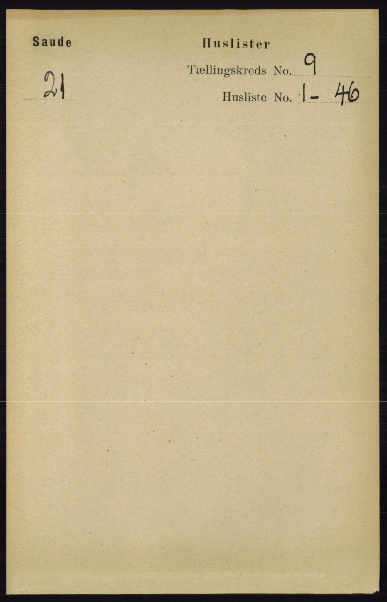 RA, Folketelling 1891 for 0822 Sauherad herred, 1891, s. 2657