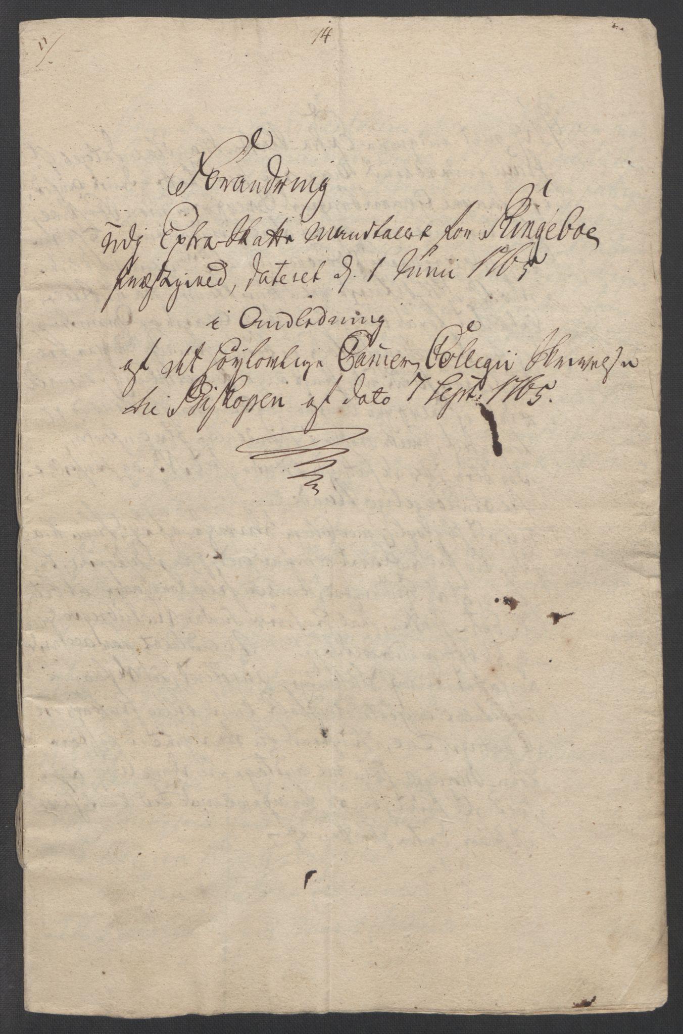 RA, Rentekammeret inntil 1814, Reviderte regnskaper, Fogderegnskap, R17/L1266: Ekstraskatten Gudbrandsdal, 1762-1766, s. 503