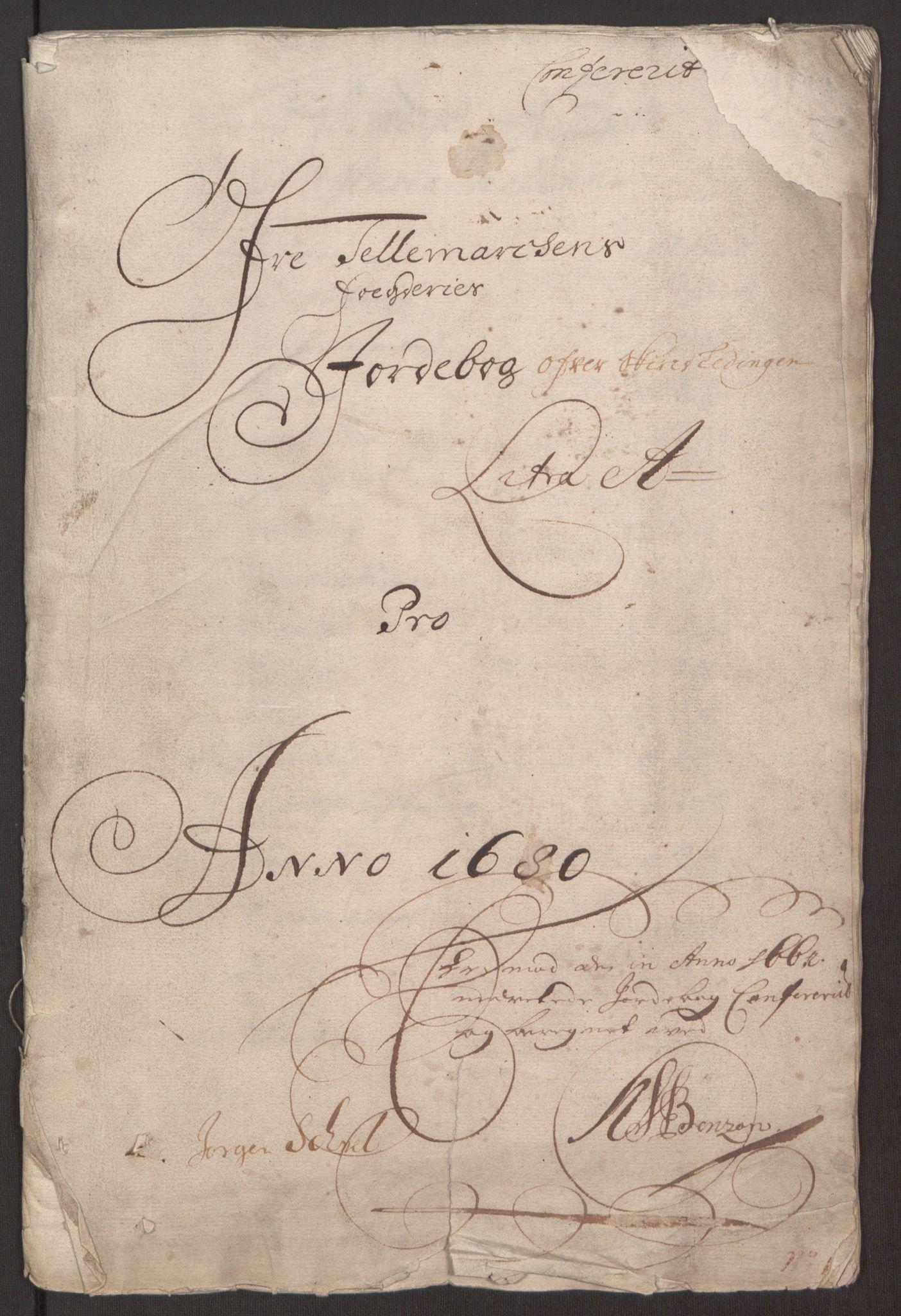 RA, Rentekammeret inntil 1814, Reviderte regnskaper, Fogderegnskap, R35/L2075: Fogderegnskap Øvre og Nedre Telemark, 1680-1684, s. 34