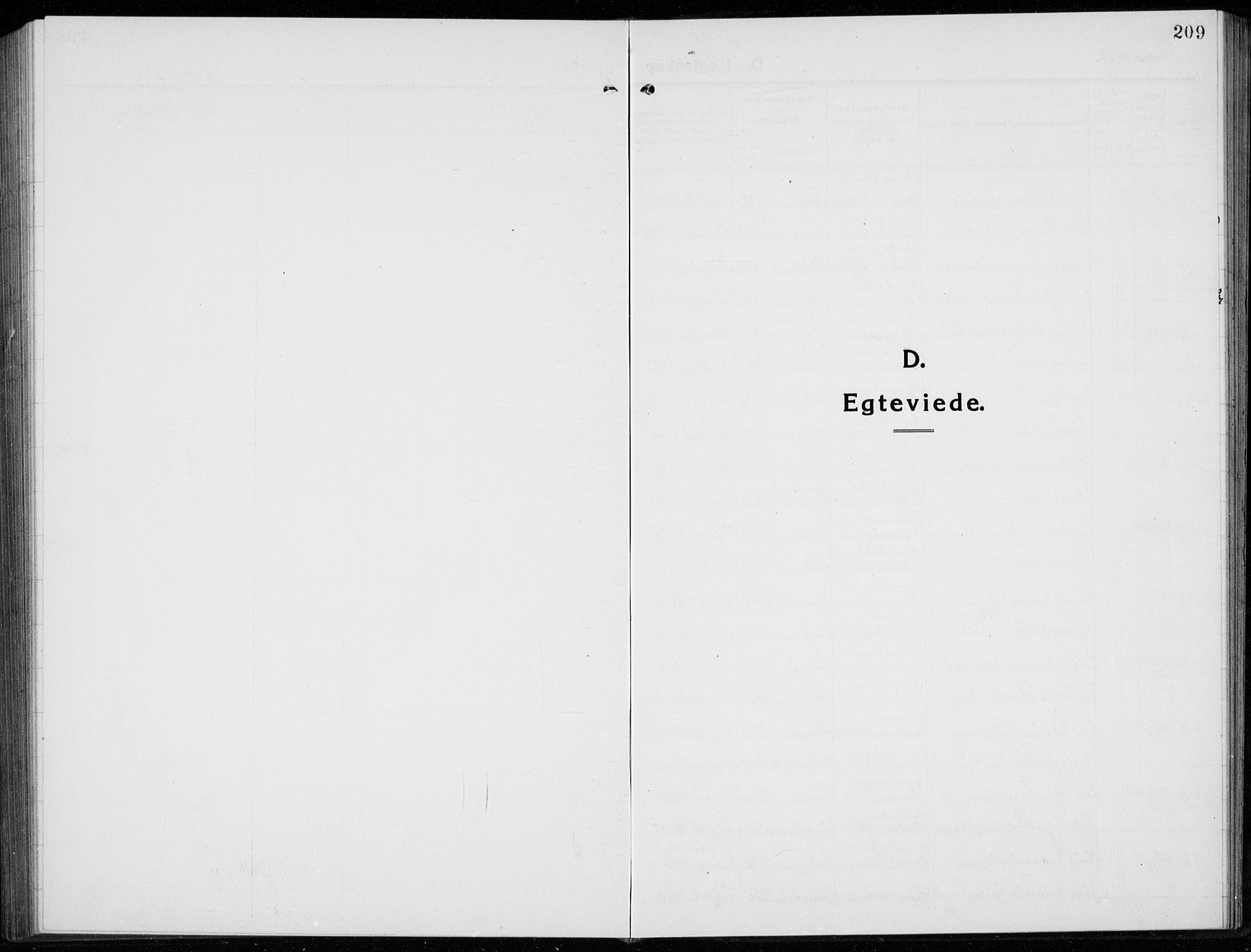 SAKO, Sigdal kirkebøker, G/Ga/L0007: Klokkerbok nr. I 7, 1917-1935, s. 209