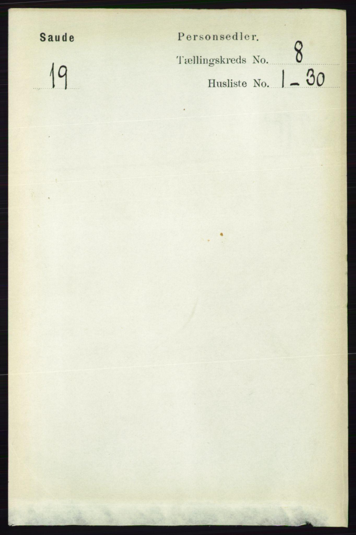 RA, Folketelling 1891 for 0822 Sauherad herred, 1891, s. 2329