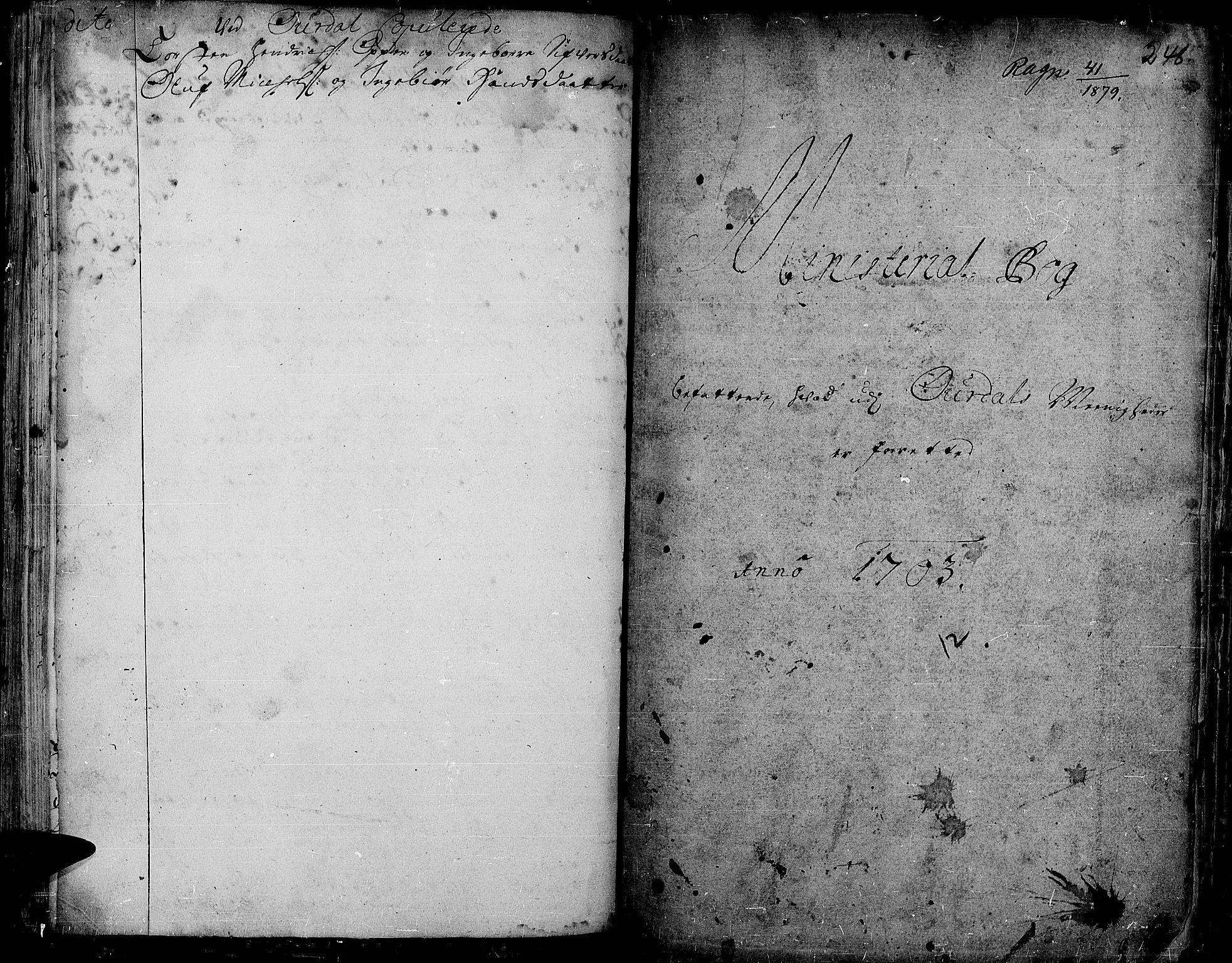 SAH, Aurdal prestekontor, Ministerialbok nr. 1-3, 1692-1730, s. 248