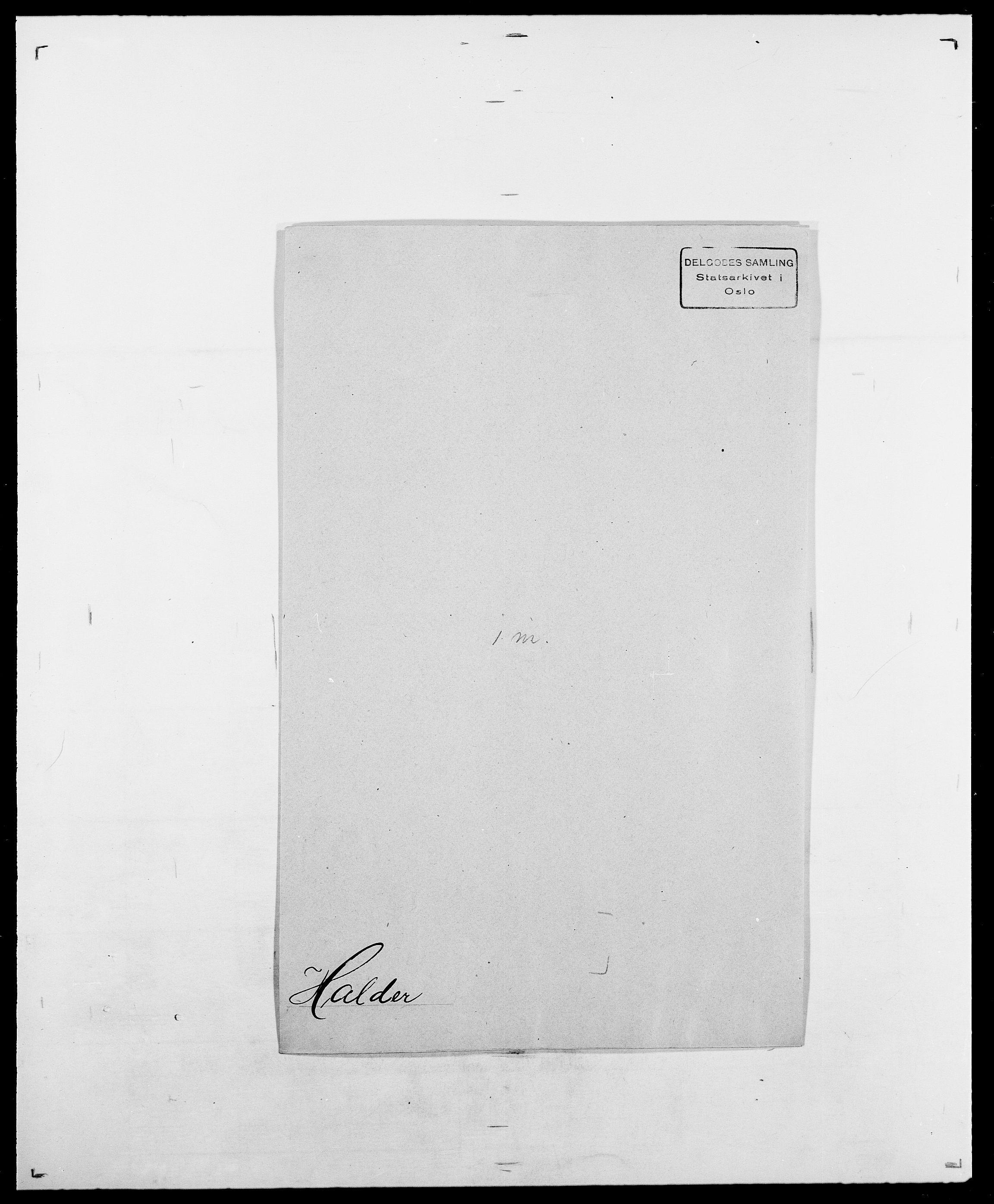 SAO, Delgobe, Charles Antoine - samling, D/Da/L0015: Grodtshilling - Halvorsæth, s. 752