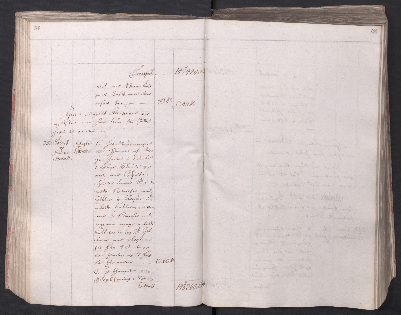 SAO, Kristiania stiftamt, I/Ia/L0015: Branntakster, 1797, s. 128