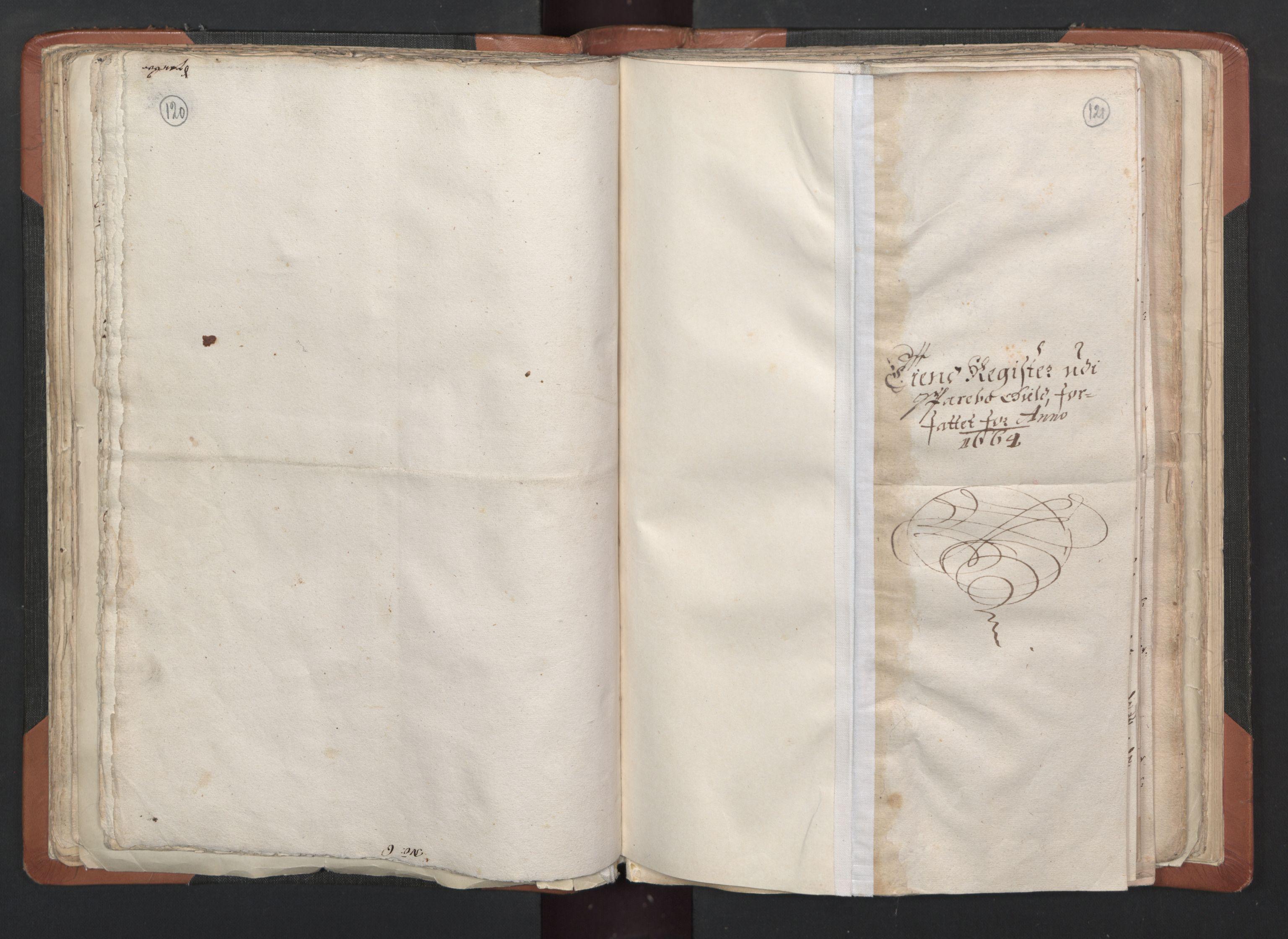 RA, Sogneprestenes manntall 1664-1666, nr. 33: Innherad prosti, 1664-1666, s. 120-121