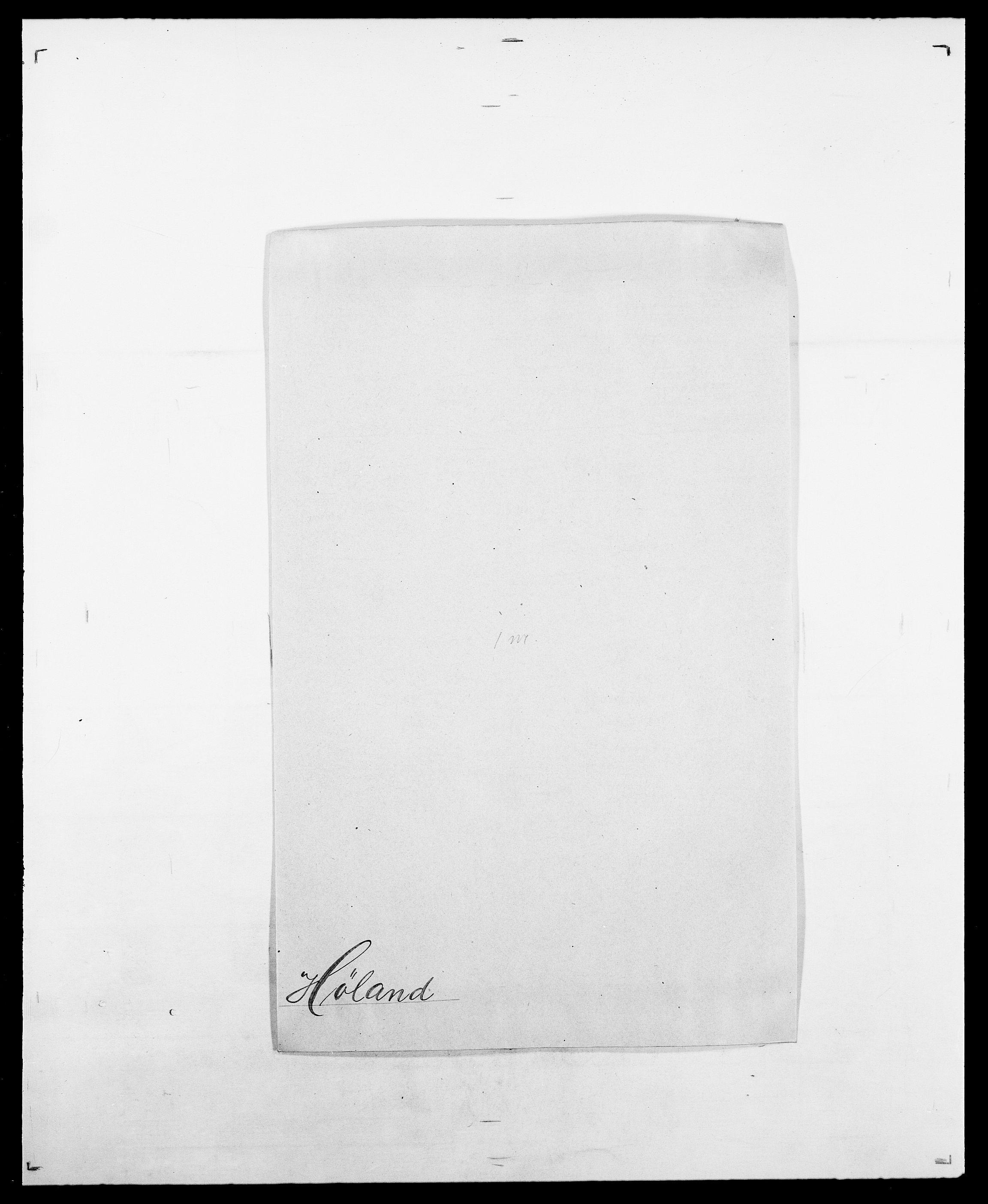 SAO, Delgobe, Charles Antoine - samling, D/Da/L0019: van der Hude - Joys, s. 358