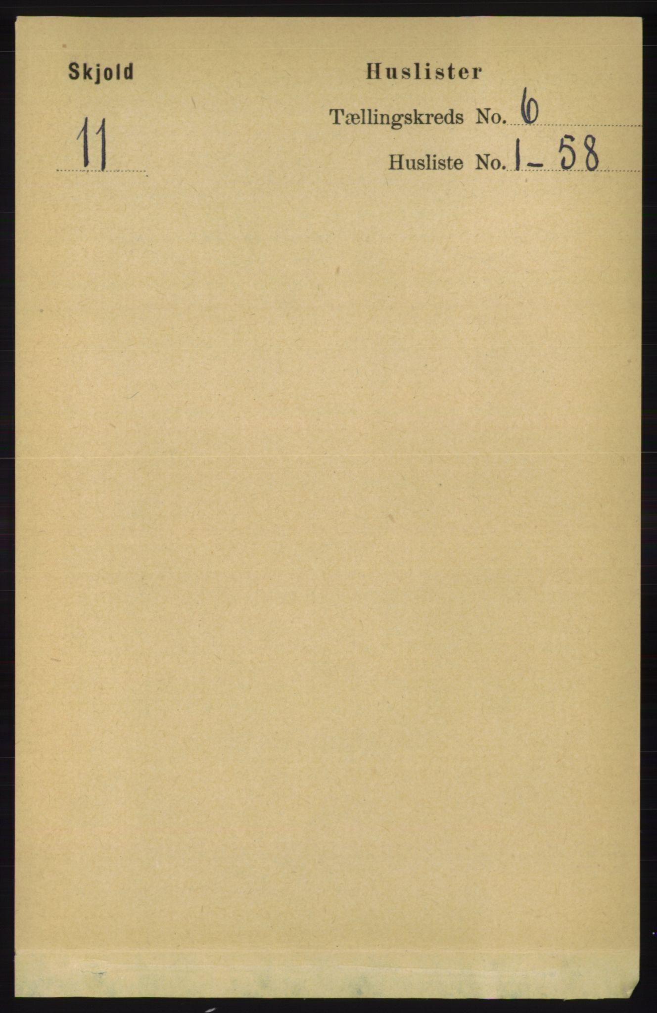 RA, Folketelling 1891 for 1154 Skjold herred, 1891, s. 949