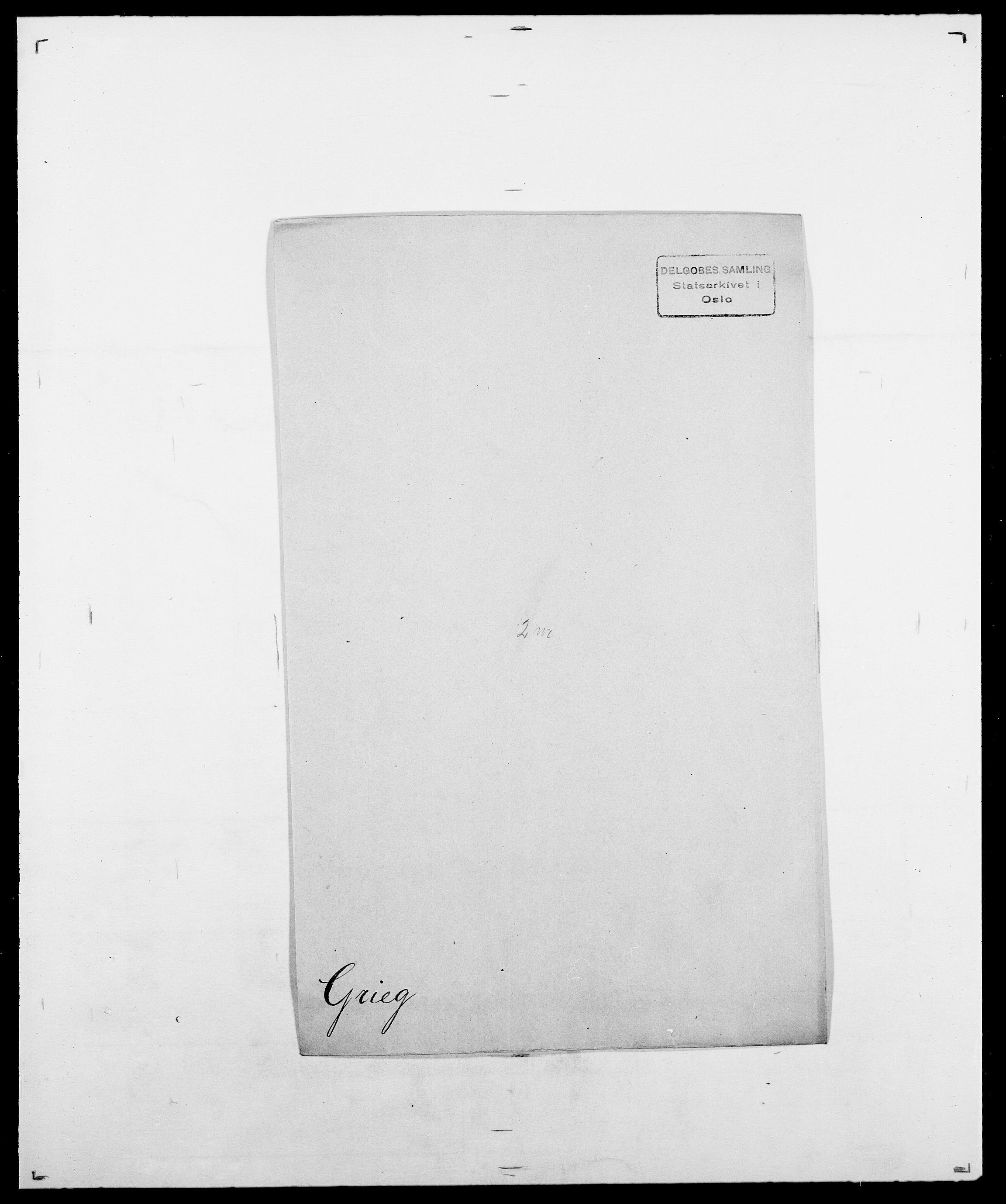 SAO, Delgobe, Charles Antoine - samling, D/Da/L0014: Giebdhausen - Grip, s. 644