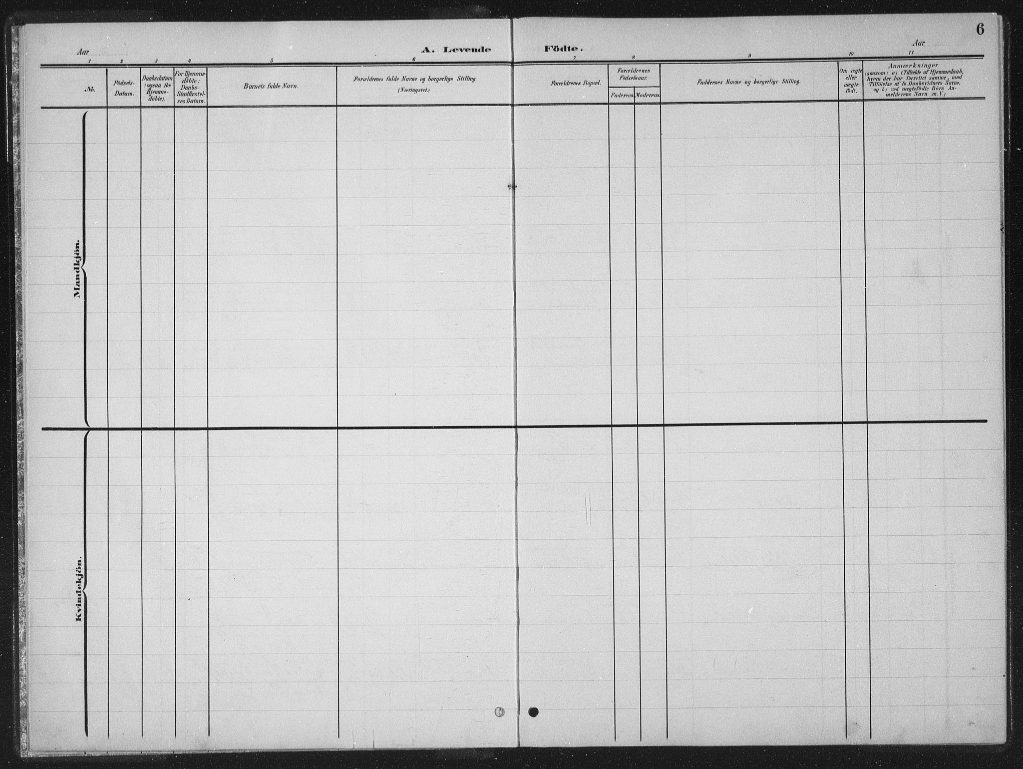 SAT, Ministerialprotokoller, klokkerbøker og fødselsregistre - Nord-Trøndelag, 770/L0591: Klokkerbok nr. 770C02, 1902-1940, s. 6