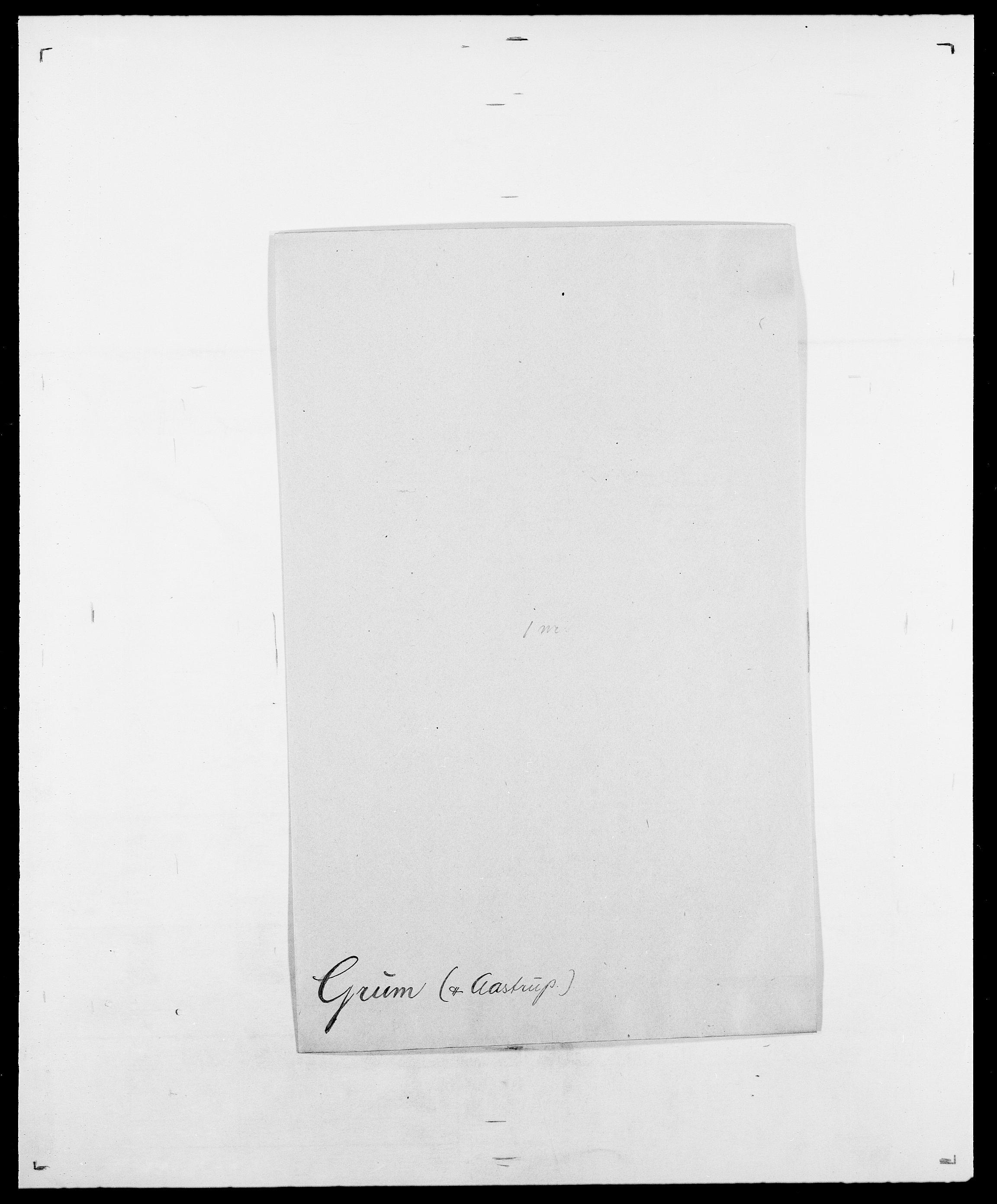 SAO, Delgobe, Charles Antoine - samling, D/Da/L0015: Grodtshilling - Halvorsæth, s. 68