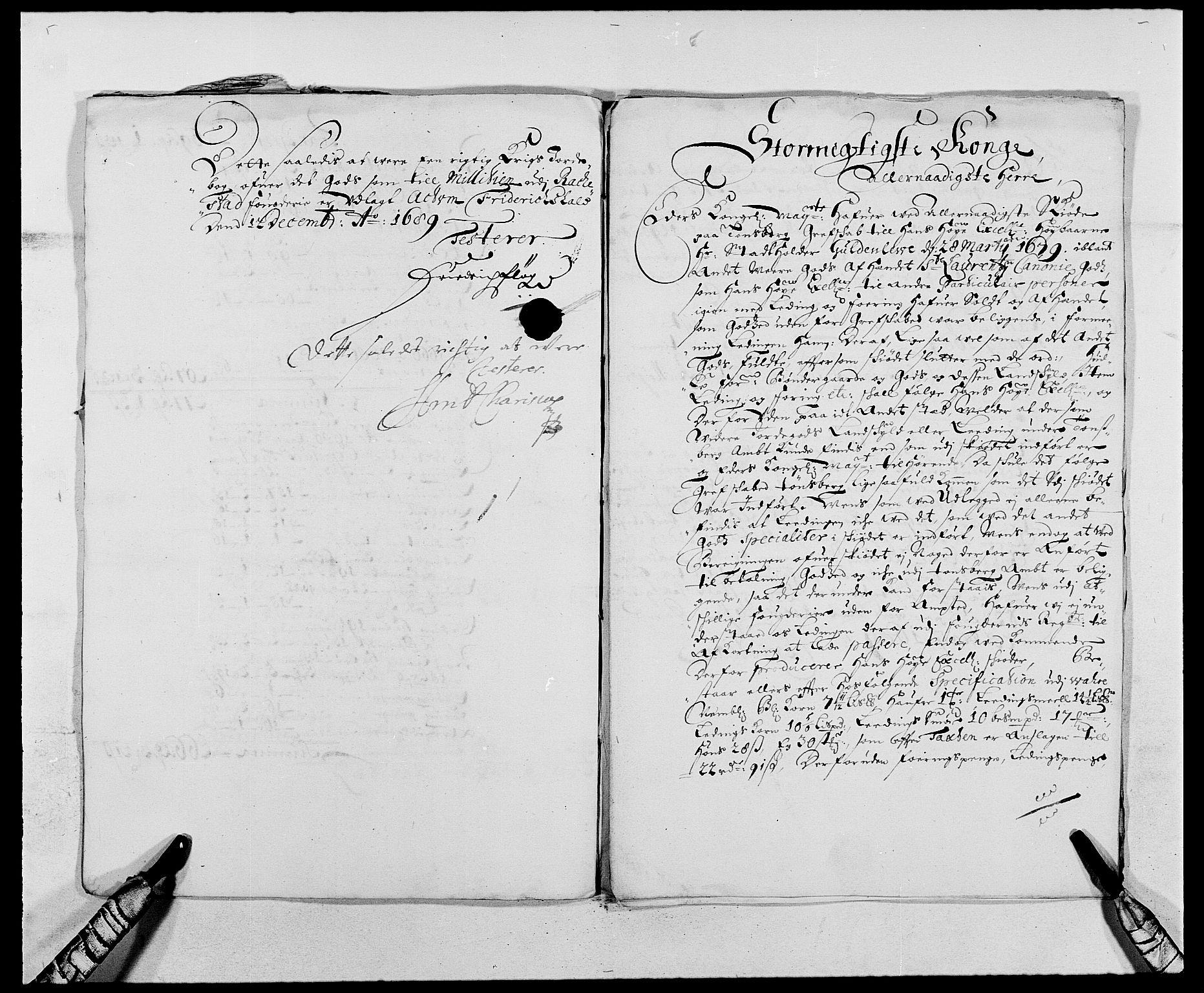 RA, Rentekammeret inntil 1814, Reviderte regnskaper, Fogderegnskap, R05/L0277: Fogderegnskap Rakkestad, 1689-1690, s. 331