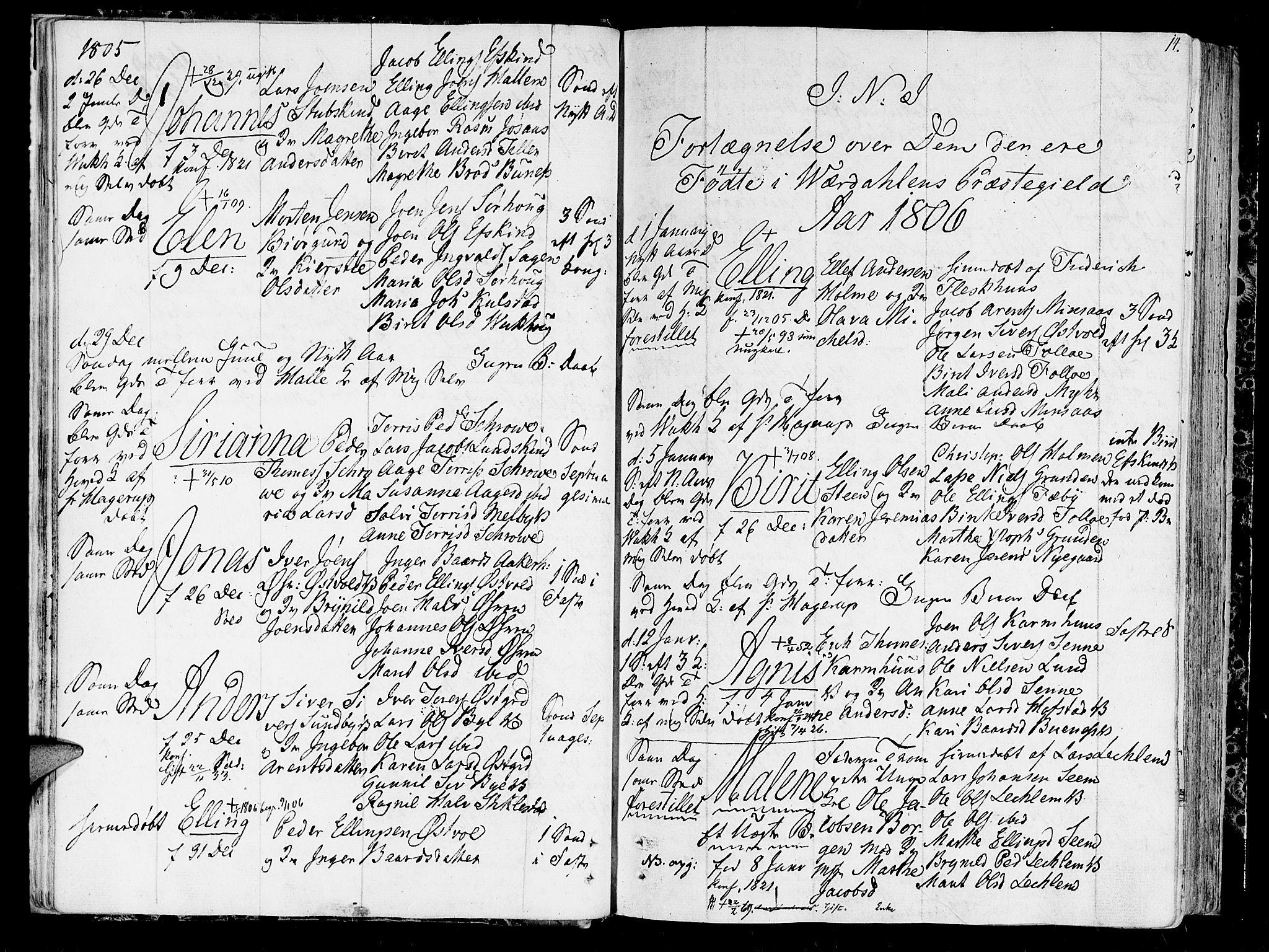 SAT, Ministerialprotokoller, klokkerbøker og fødselsregistre - Nord-Trøndelag, 723/L0233: Ministerialbok nr. 723A04, 1805-1816, s. 14