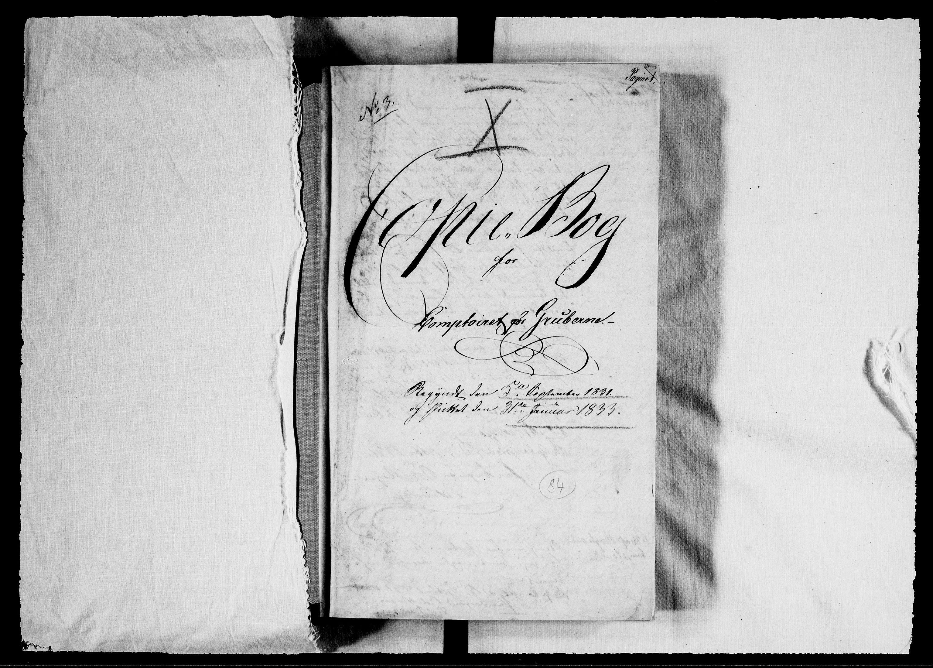 RA, Modums Blaafarveværk, G/Gb/L0084, 1831-1833, s. 2