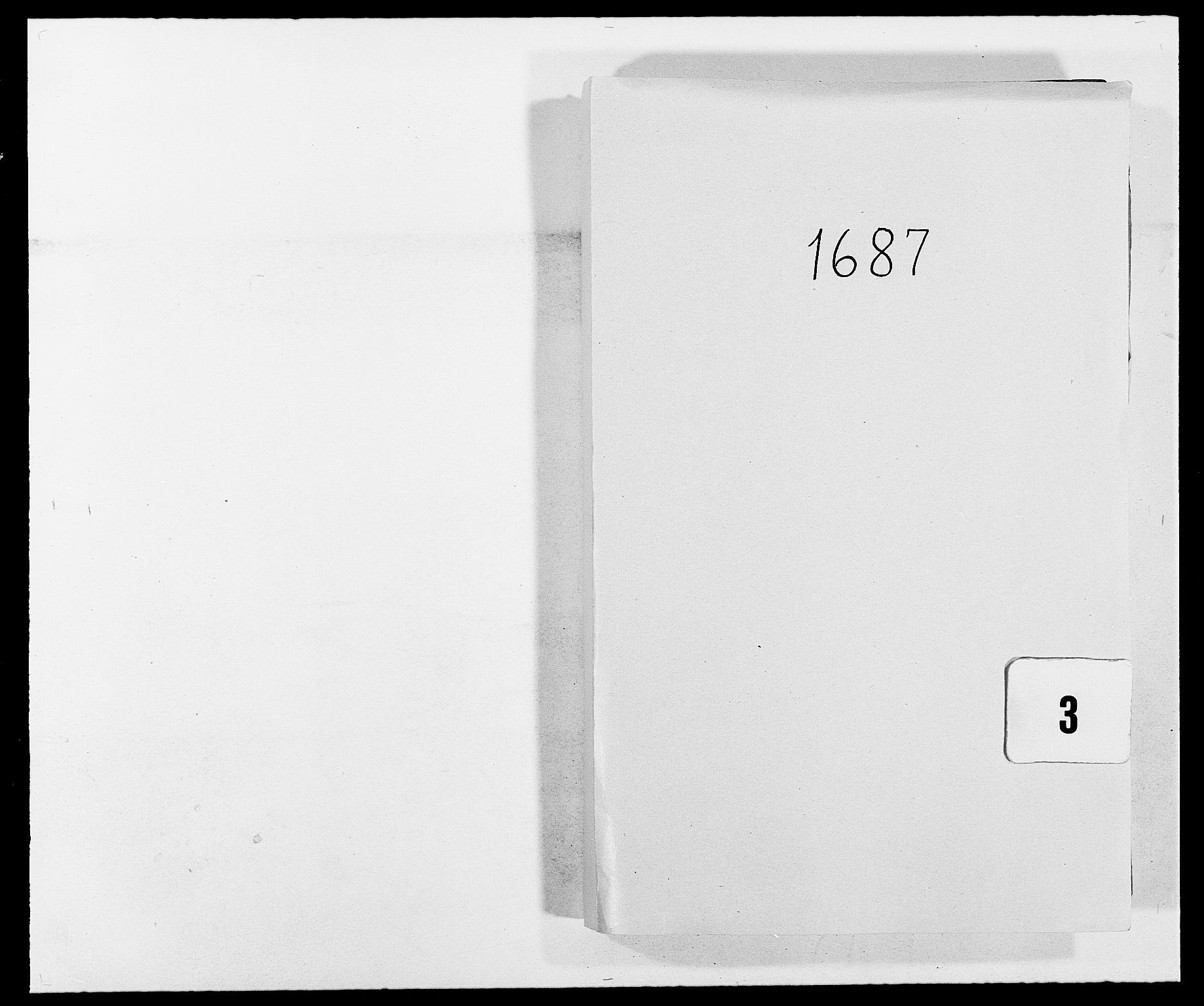 RA, Rentekammeret inntil 1814, Reviderte regnskaper, Fogderegnskap, R02/L0105: Fogderegnskap Moss og Verne kloster, 1685-1687, s. 262