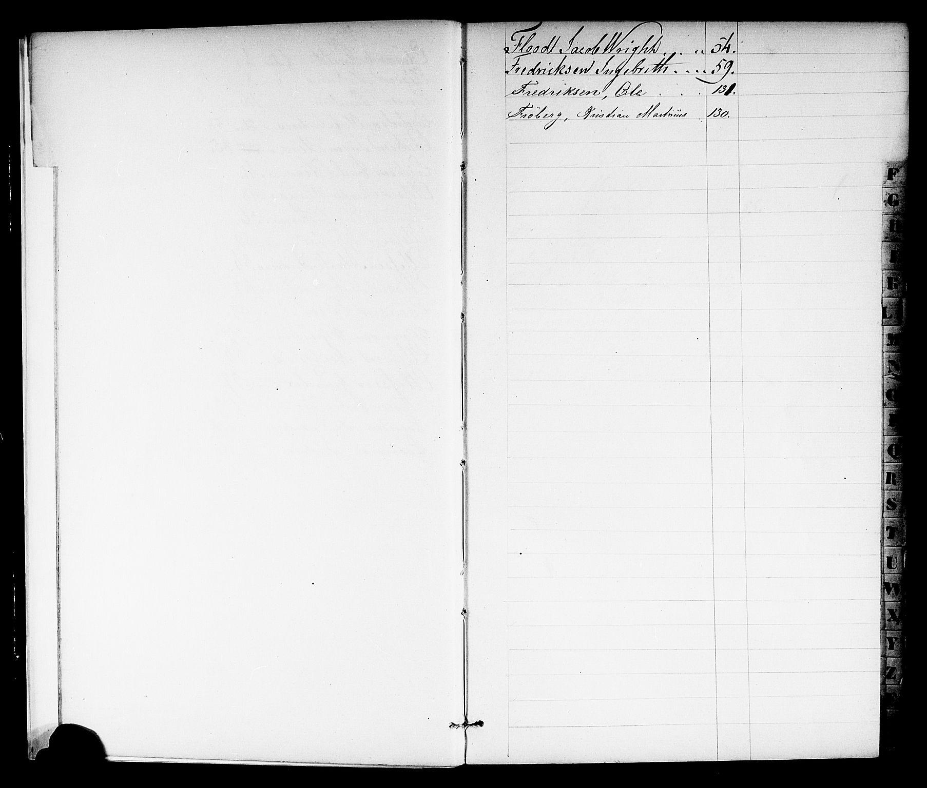 SAKO, Porsgrunn innrulleringskontor, F/Fb/L0001: Annotasjonsrulle, 1860-1868, s. 8