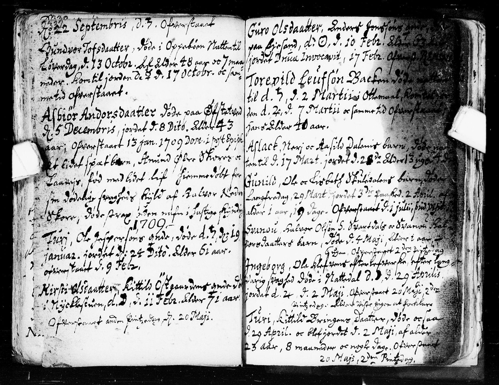 SAKO, Seljord kirkebøker, F/Fa/L0002: Ministerialbok nr. I 2, 1689-1713, s. 332-333