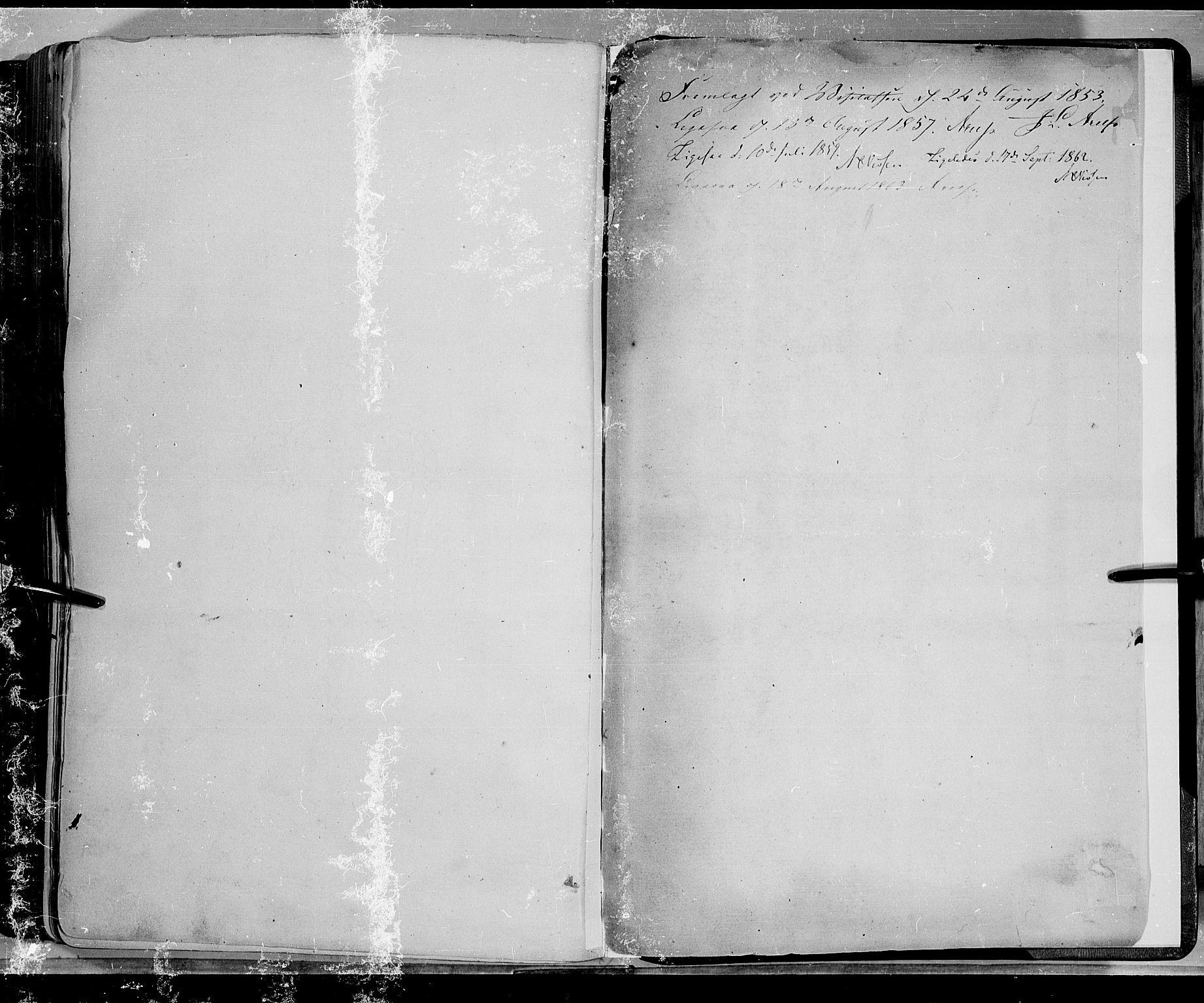 SAH, Lom prestekontor, K/L0006: Ministerialbok nr. 6B, 1837-1863