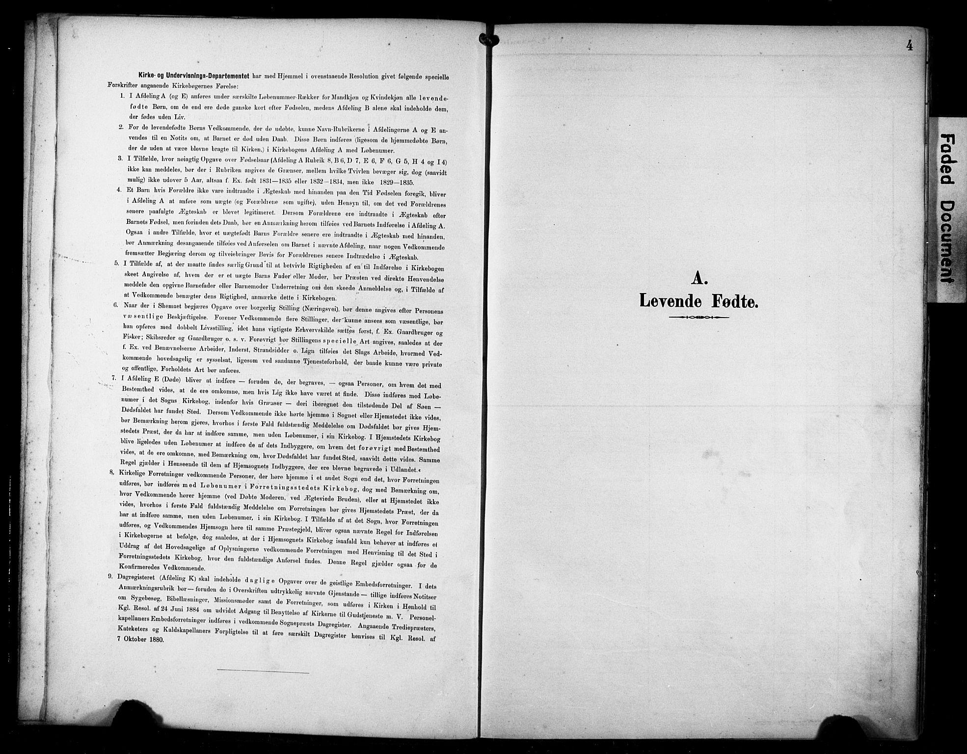 SAST, Avaldsnes sokneprestkontor, H/Ha/Haa/L0016: Ministerialbok nr. A 16, 1893-1918, s. 4