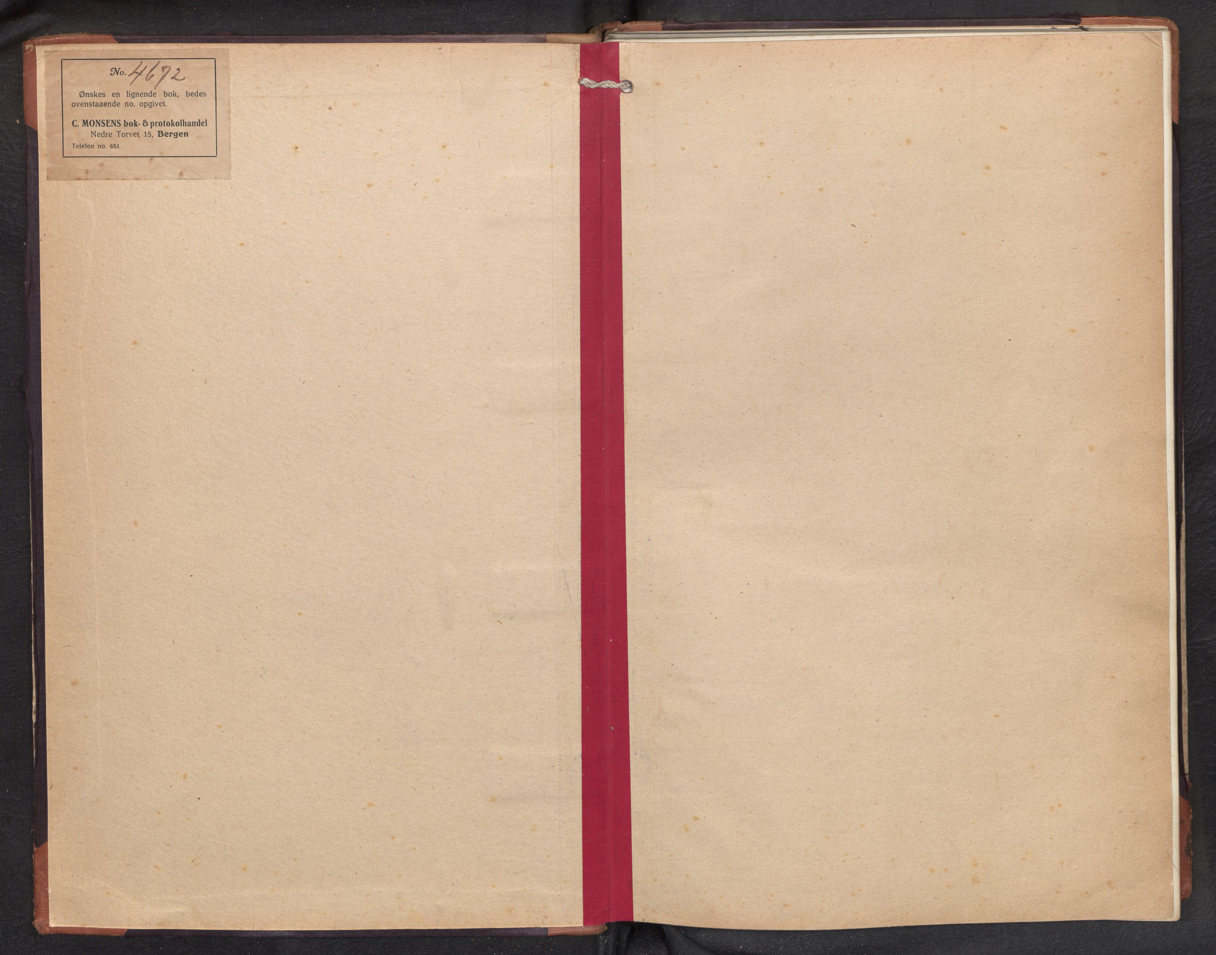 SAB, Aurland Sokneprestembete*, Klokkerbok nr. D 3, 1920-1968