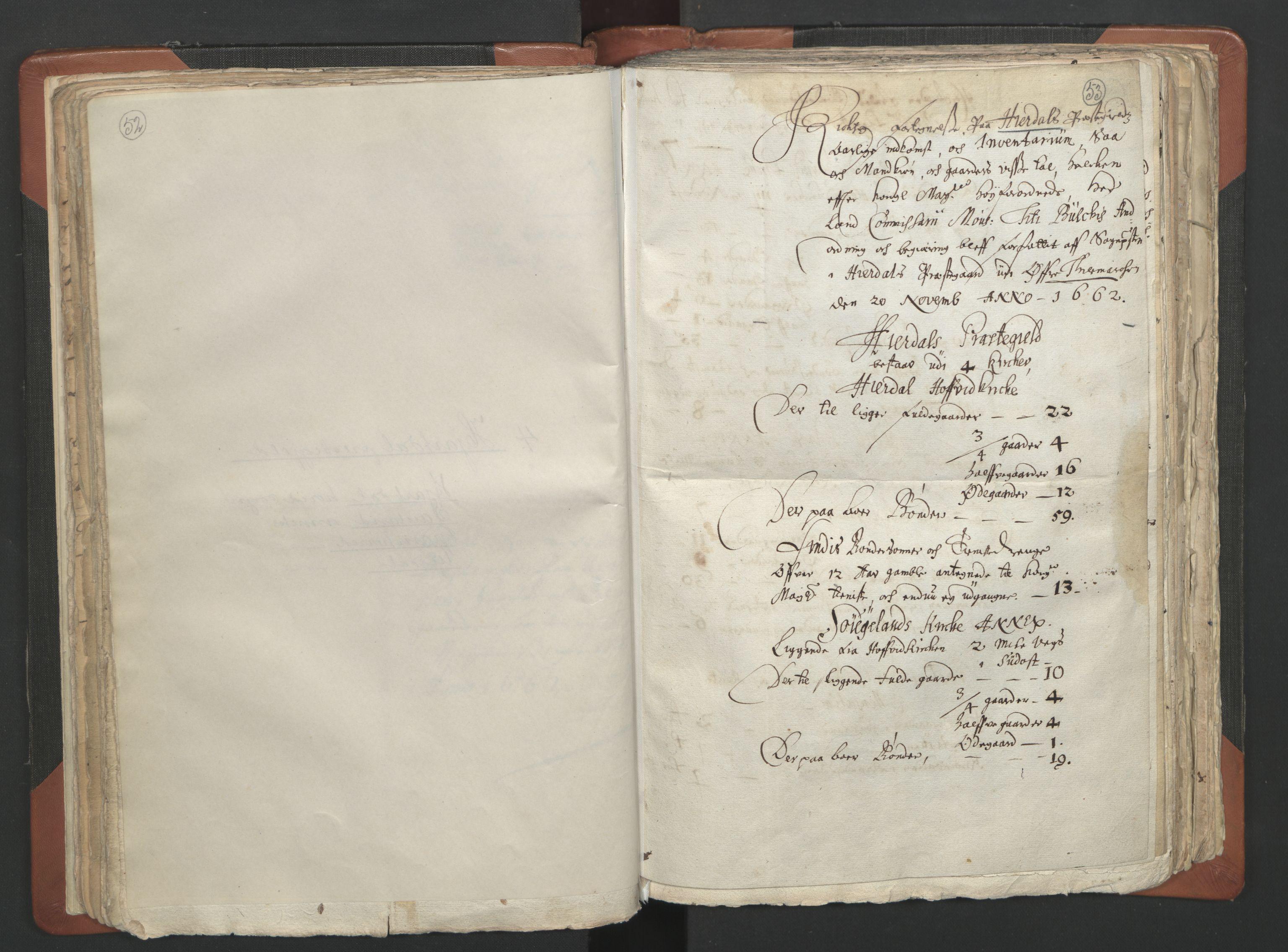 RA, Sogneprestenes manntall 1664-1666, nr. 12: Øvre Telemark prosti, Nedre Telemark prosti og Bamble prosti, 1664-1666, s. 52-53