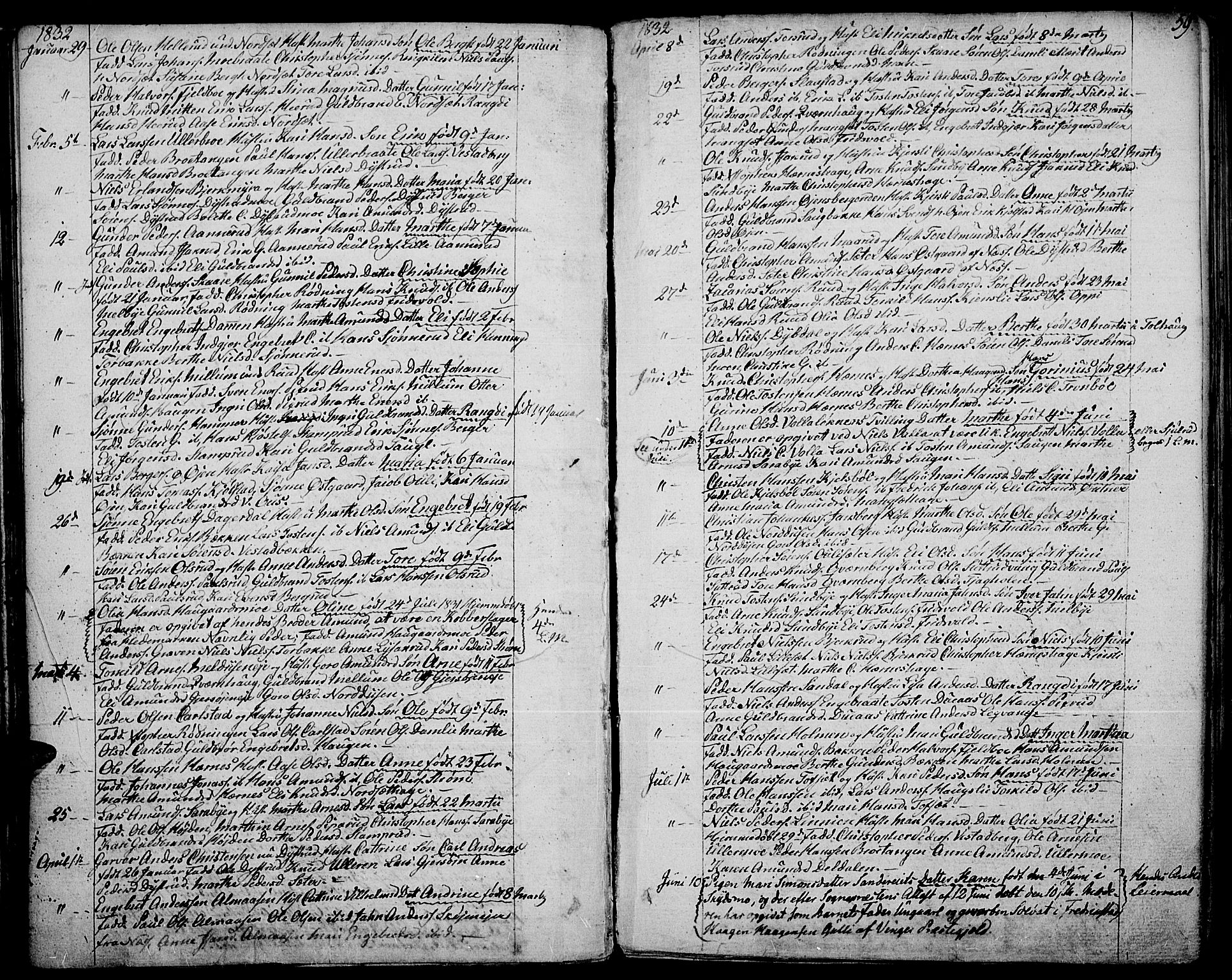 SAH, Strøm-Odalen prestekontor, Ministerialbok nr. 5, 1811-1850, s. 59