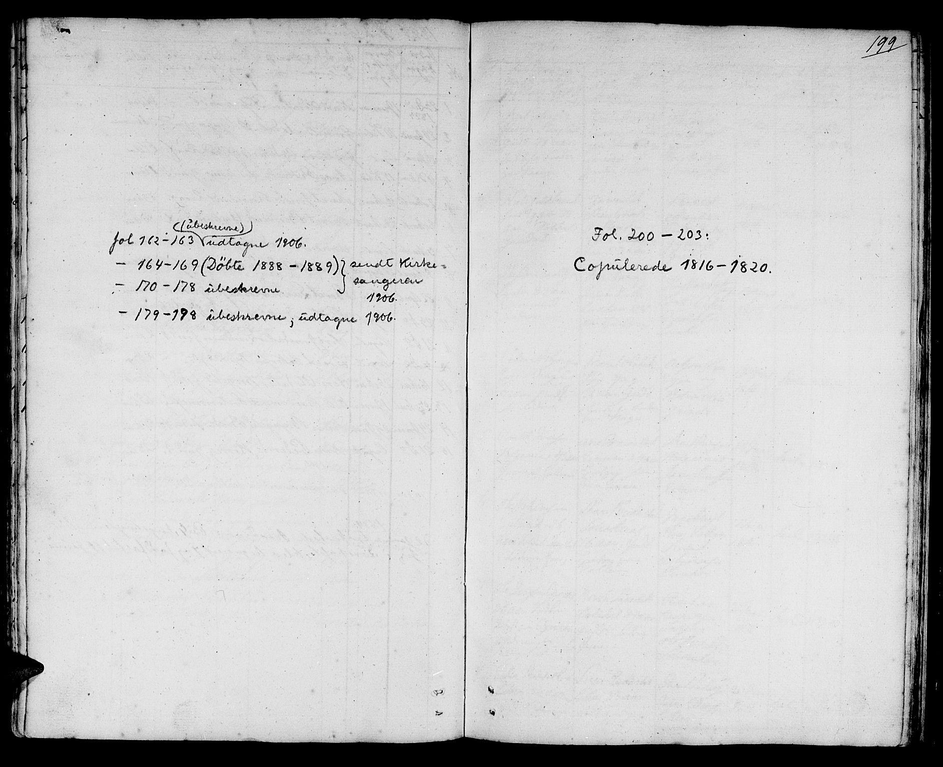 SAT, Ministerialprotokoller, klokkerbøker og fødselsregistre - Sør-Trøndelag, 692/L1108: Klokkerbok nr. 692C03, 1816-1833, s. 199