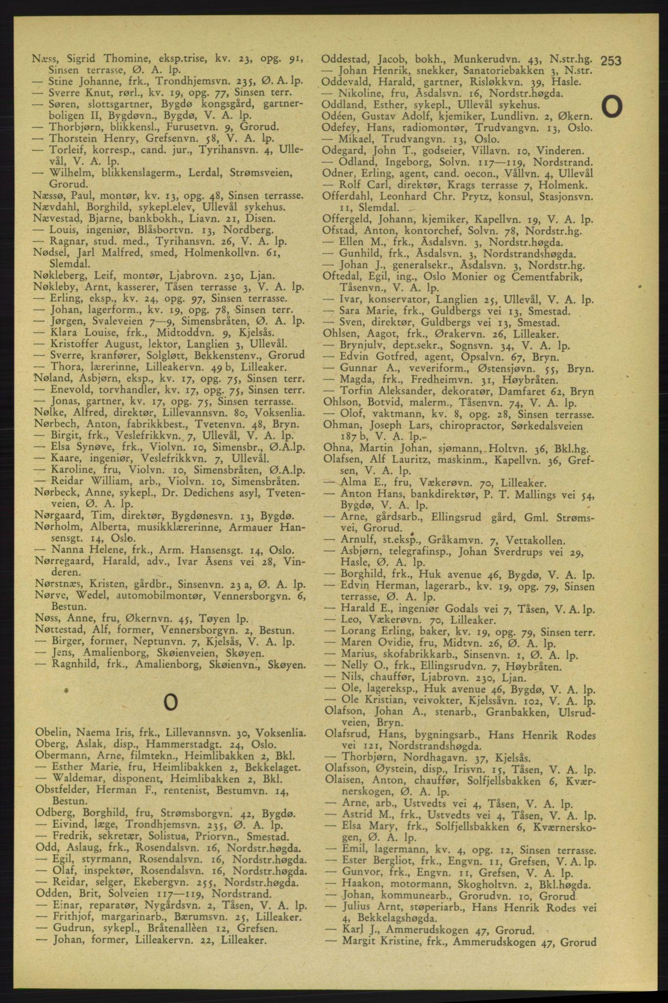 PUBL, Aker adressebok/adressekalender, 1937-1938, s. 253