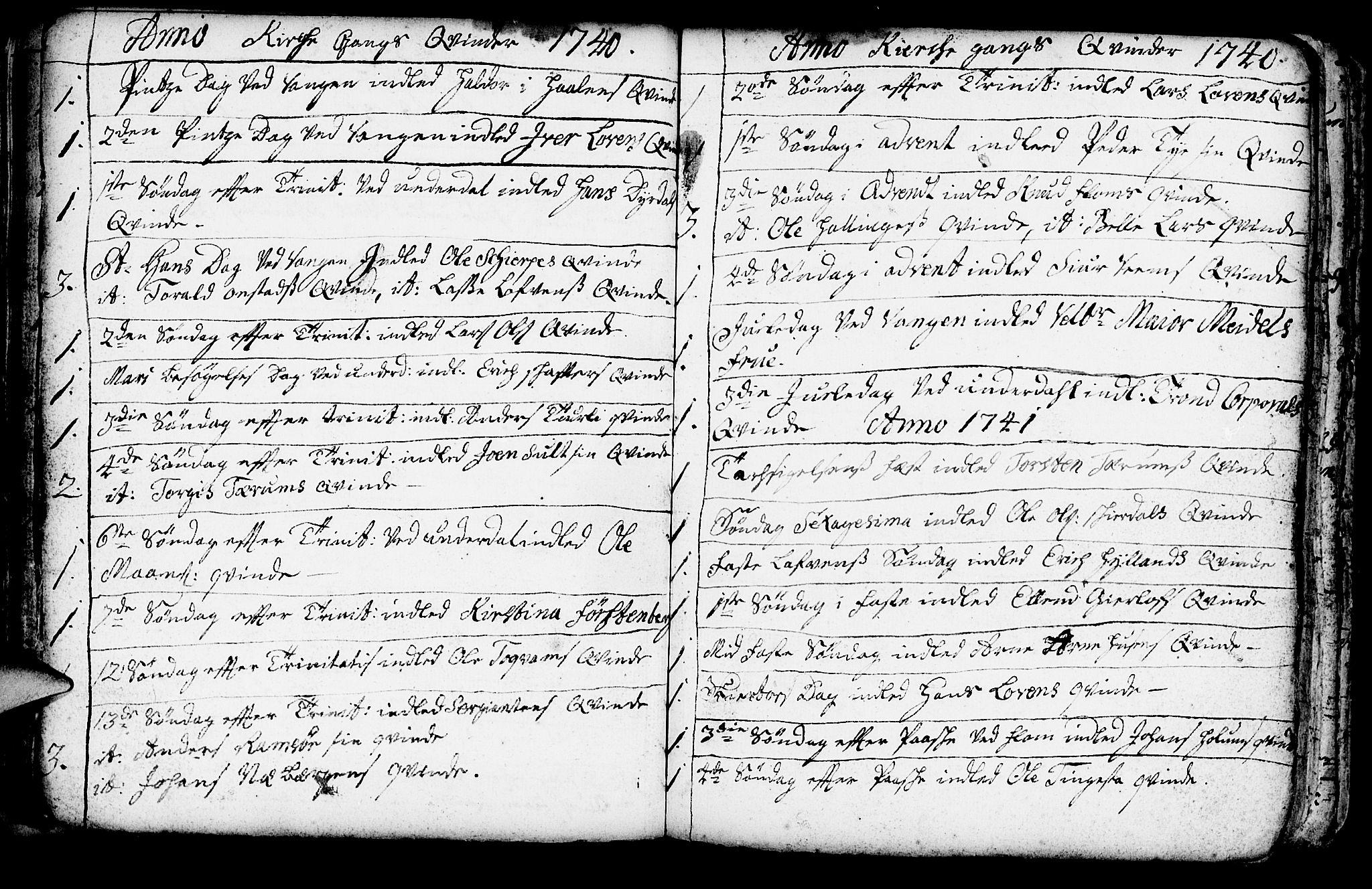 SAB, Aurland Sokneprestembete*, Ministerialbok nr. A 3, 1735-1761, s. 139