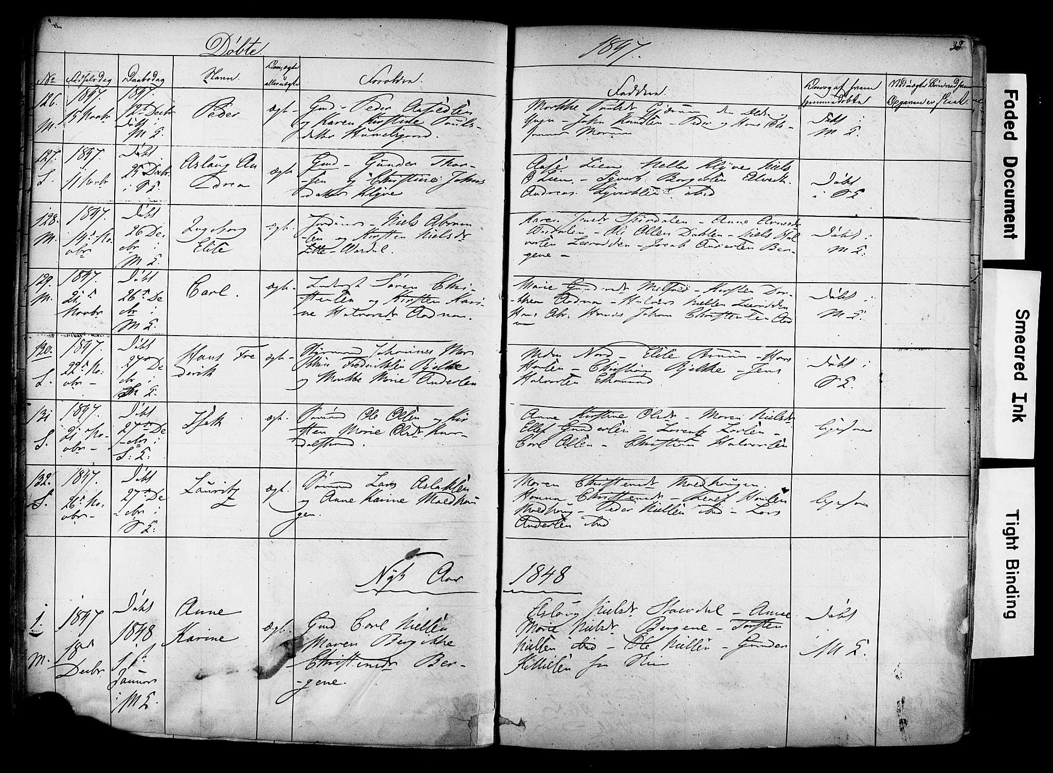 SAKO, Solum kirkebøker, F/Fa/L0006: Ministerialbok nr. I 6, 1844-1855, s. 38