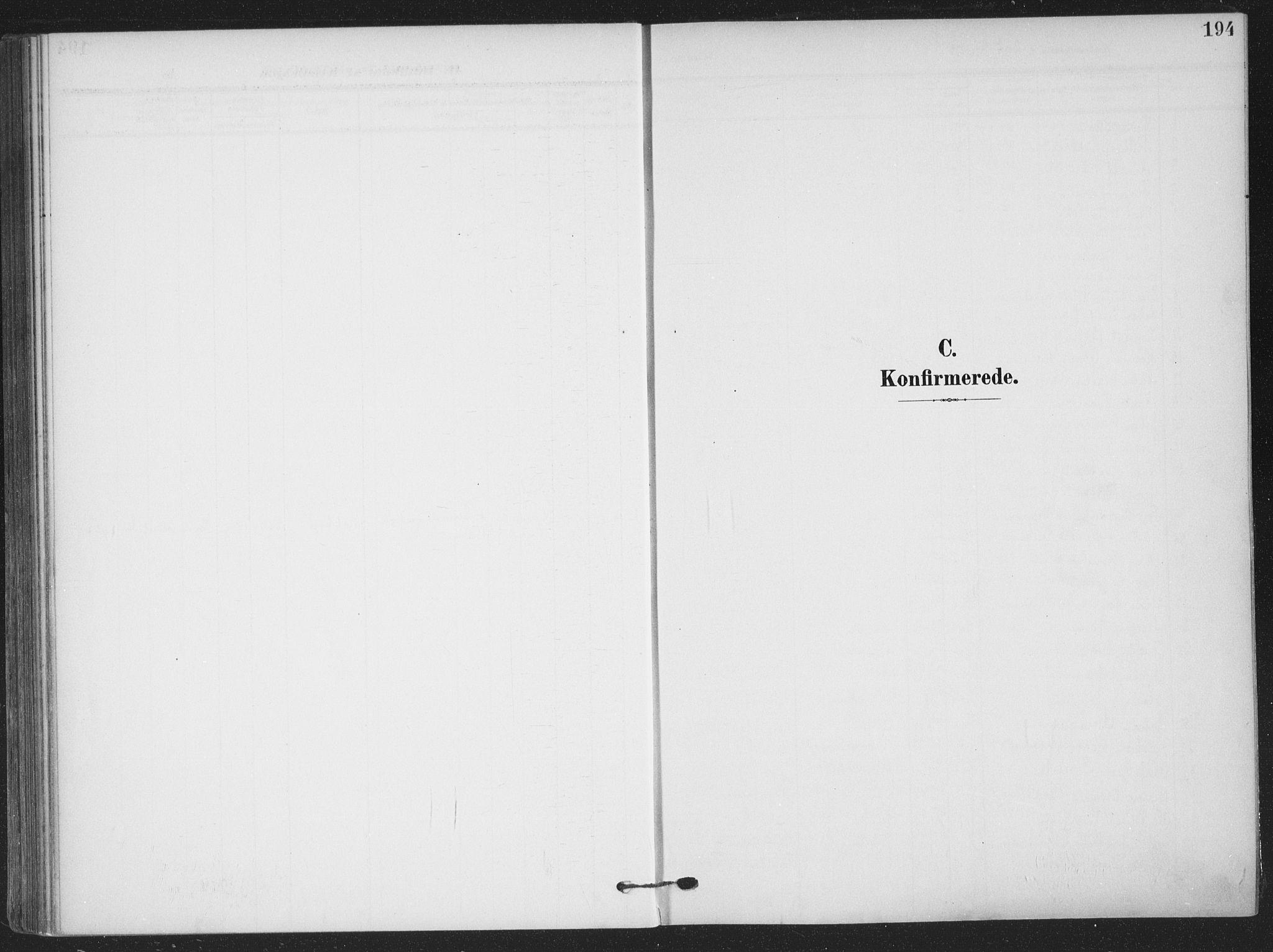 SAKO, Skien kirkebøker, F/Fa/L0012: Ministerialbok nr. 12, 1908-1914, s. 194