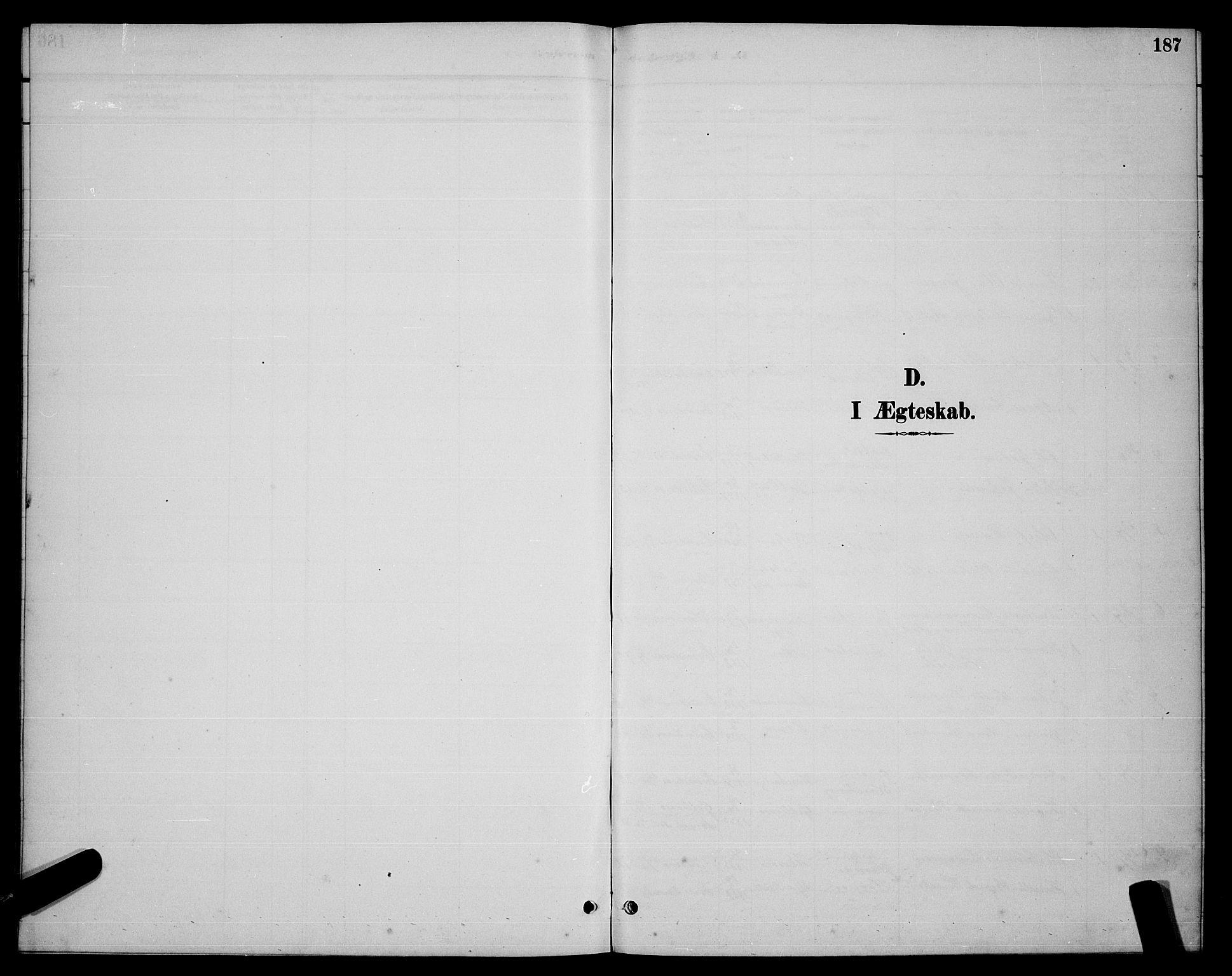 SAT, Ministerialprotokoller, klokkerbøker og fødselsregistre - Nordland, 863/L0914: Klokkerbok nr. 863C04, 1886-1897, s. 187