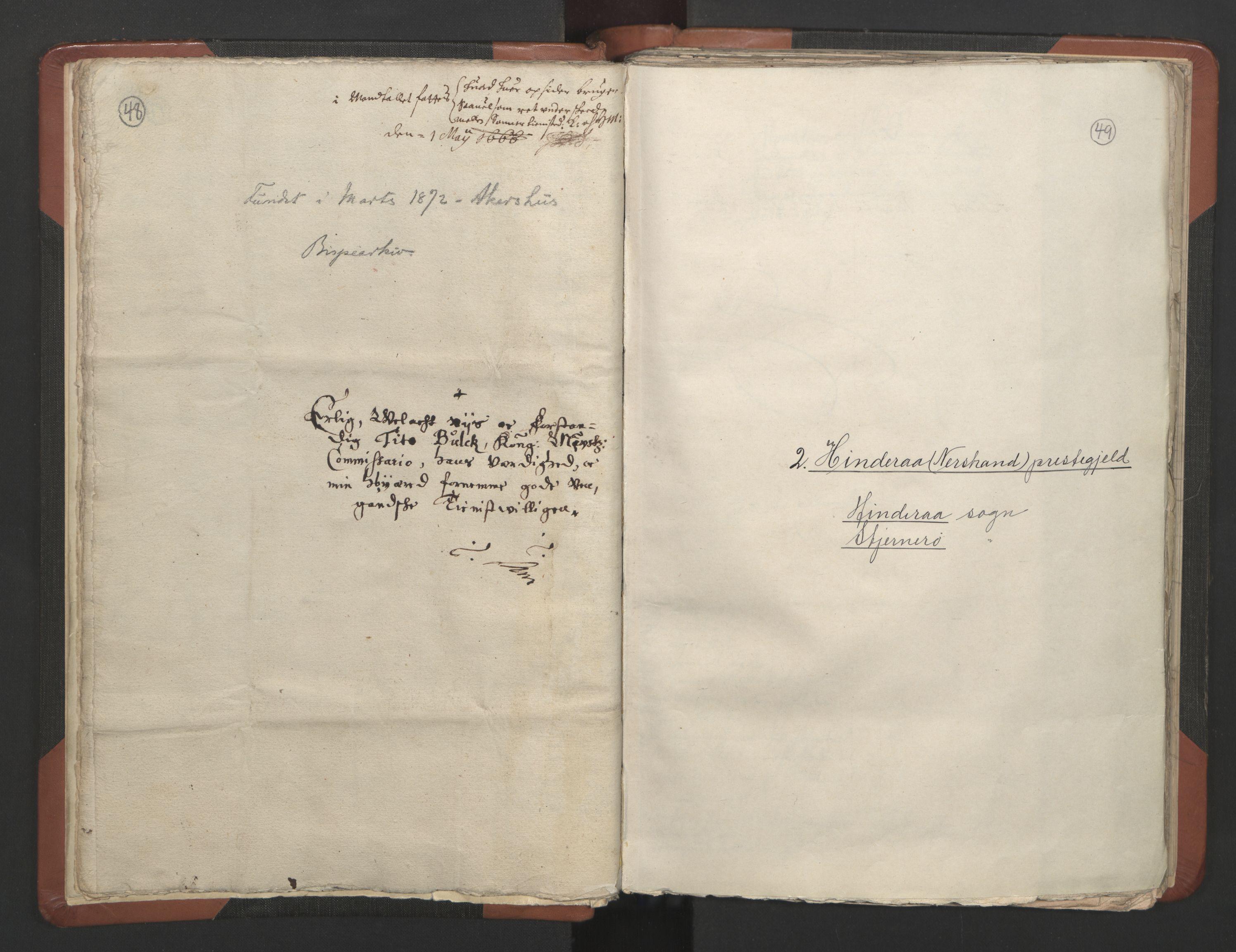 RA, Sogneprestenes manntall 1664-1666, nr. 19: Ryfylke prosti, 1664-1666, s. 48-49
