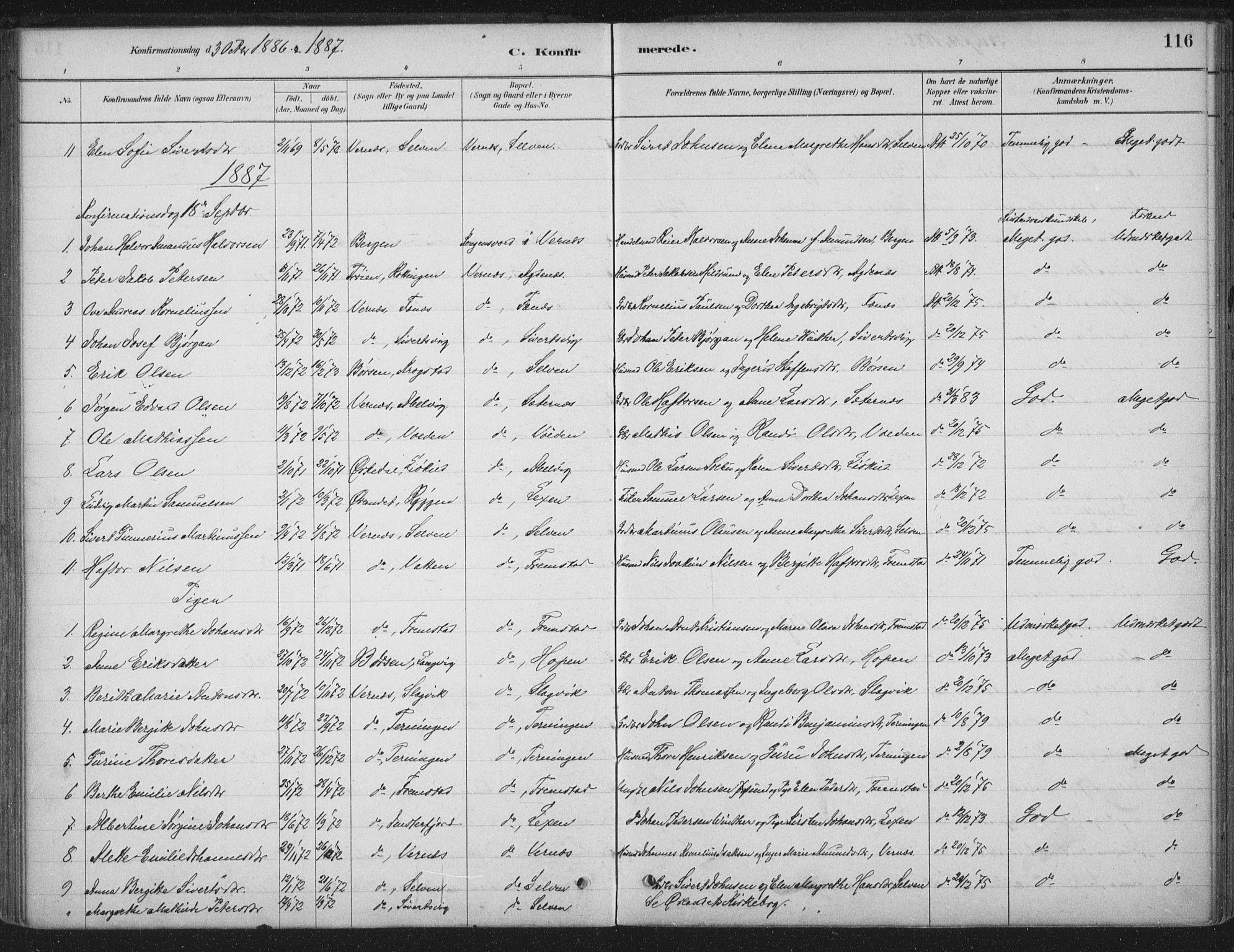 SAT, Ministerialprotokoller, klokkerbøker og fødselsregistre - Sør-Trøndelag, 662/L0755: Ministerialbok nr. 662A01, 1879-1905, s. 116