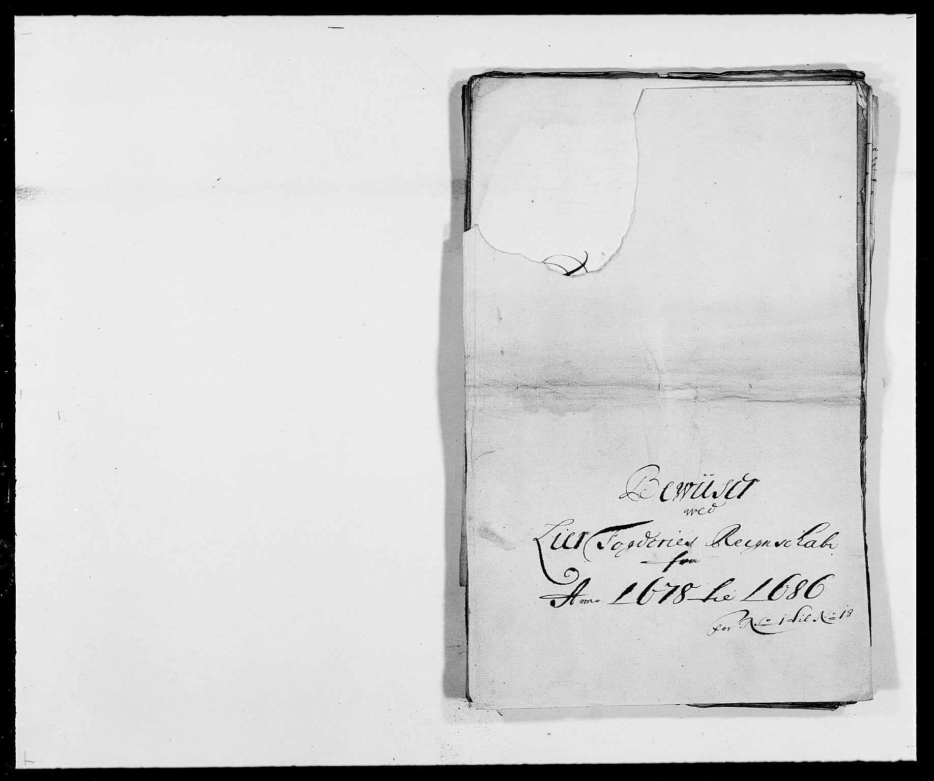 RA, Rentekammeret inntil 1814, Reviderte regnskaper, Fogderegnskap, R27/L1687: Fogderegnskap Lier, 1678-1686, s. 331