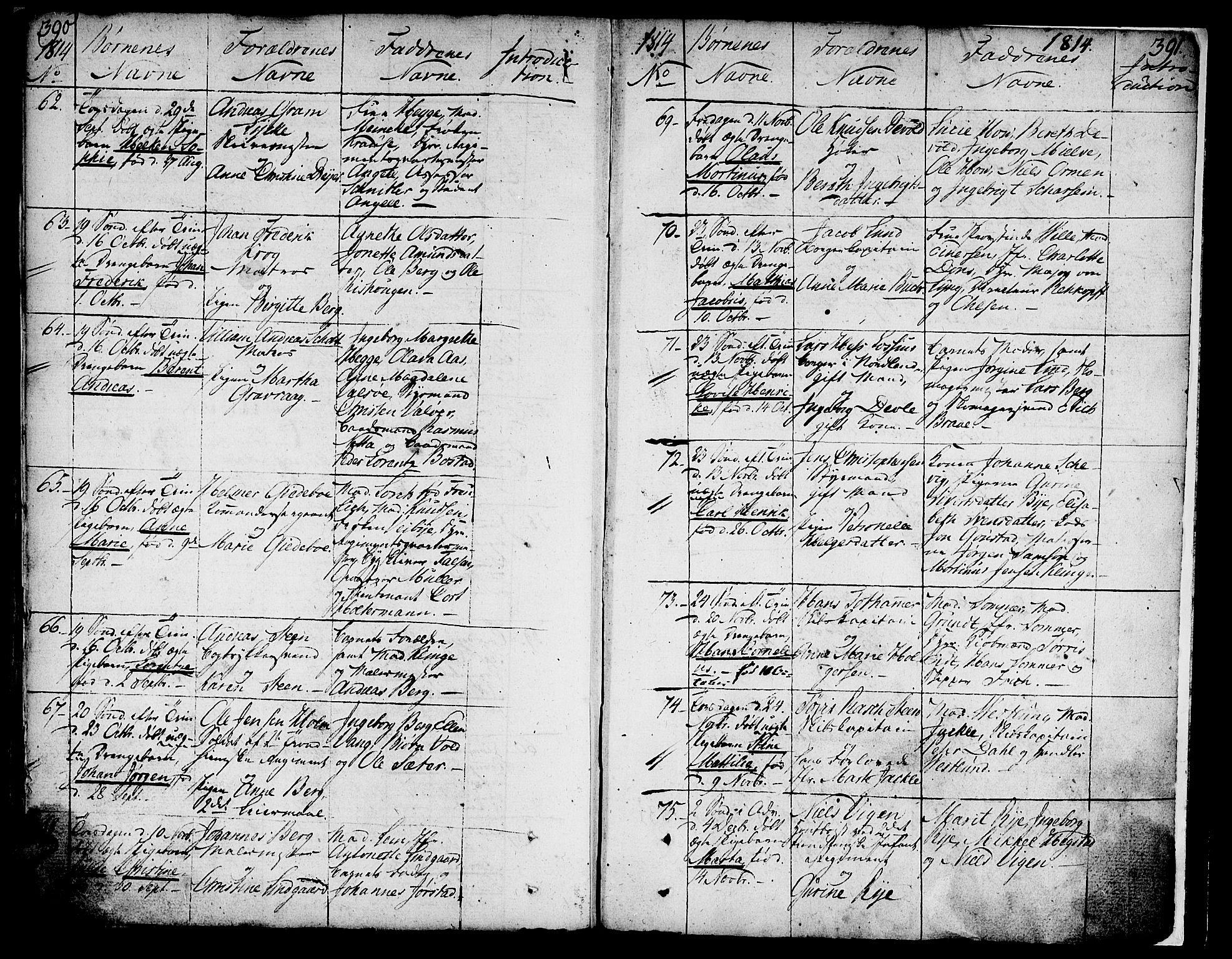 SAT, Ministerialprotokoller, klokkerbøker og fødselsregistre - Sør-Trøndelag, 602/L0104: Ministerialbok nr. 602A02, 1774-1814, s. 390-391