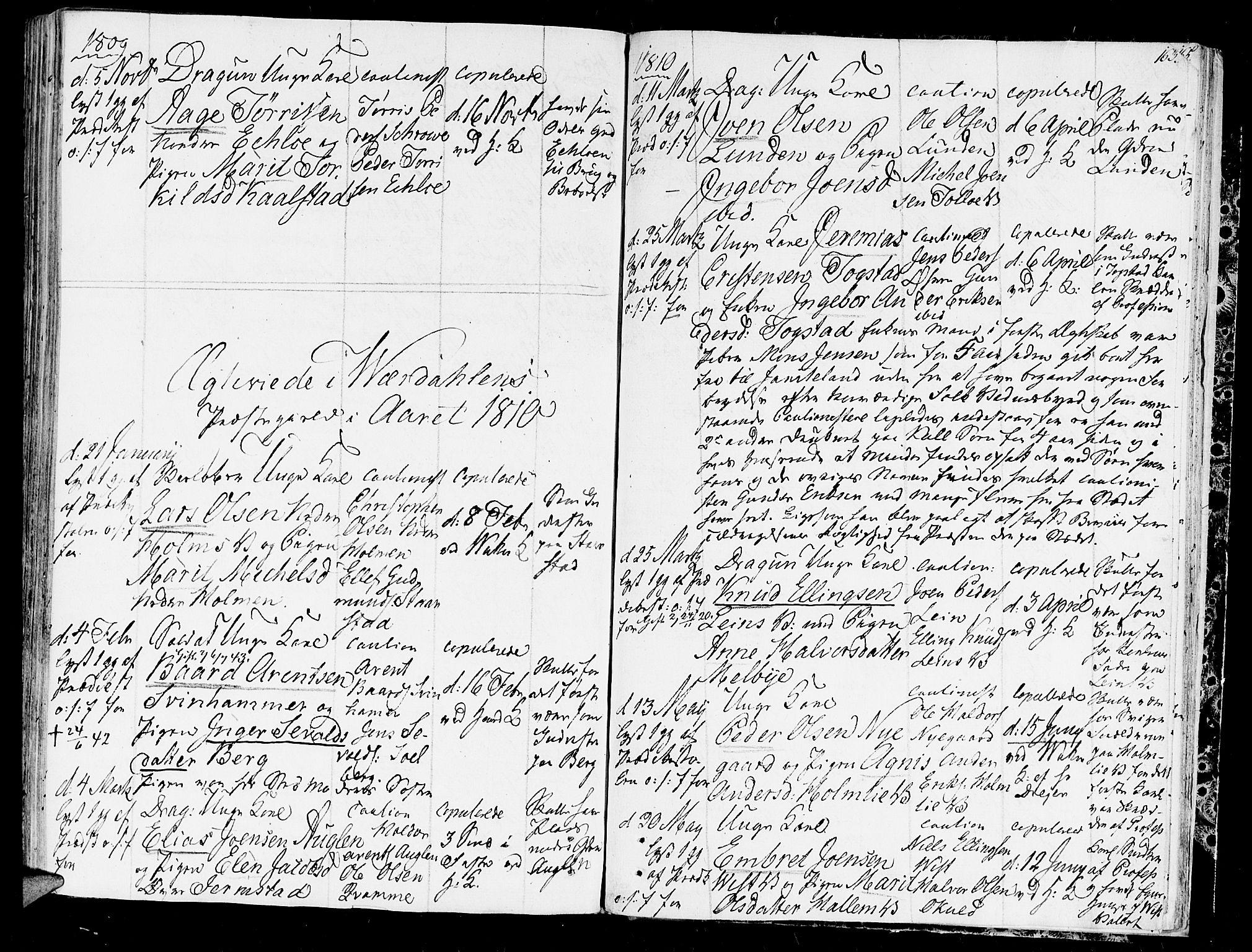 SAT, Ministerialprotokoller, klokkerbøker og fødselsregistre - Nord-Trøndelag, 723/L0233: Ministerialbok nr. 723A04, 1805-1816, s. 163