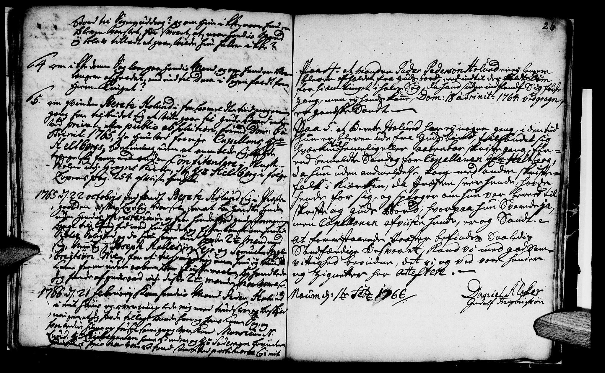 SAT, Ministerialprotokoller, klokkerbøker og fødselsregistre - Nord-Trøndelag, 759/L0526: Ministerialbok nr. 759A02, 1758-1765, s. 26
