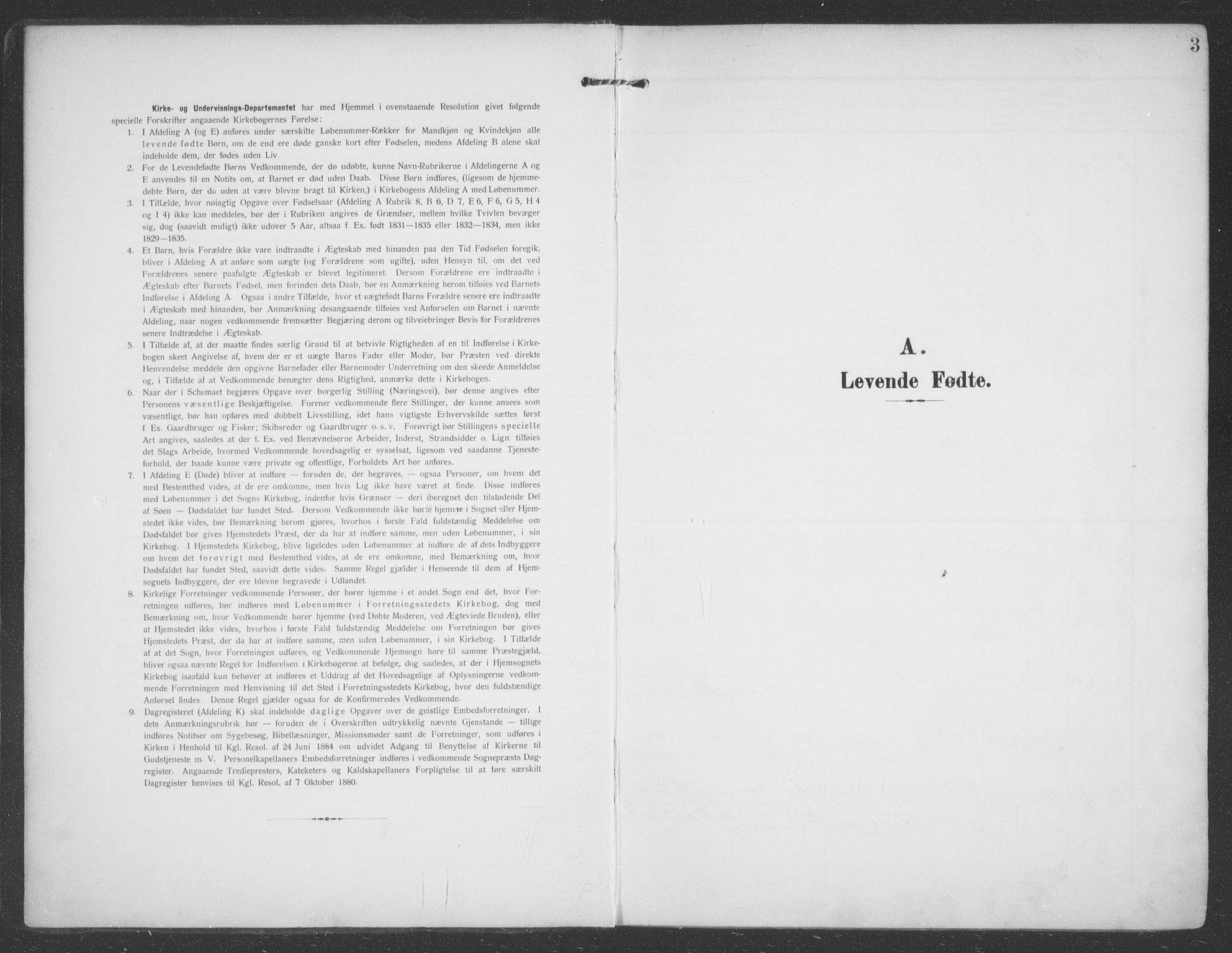 SATØ, Talvik sokneprestkontor, H/Ha/L0017kirke: Ministerialbok nr. 17, 1906-1915, s. 3