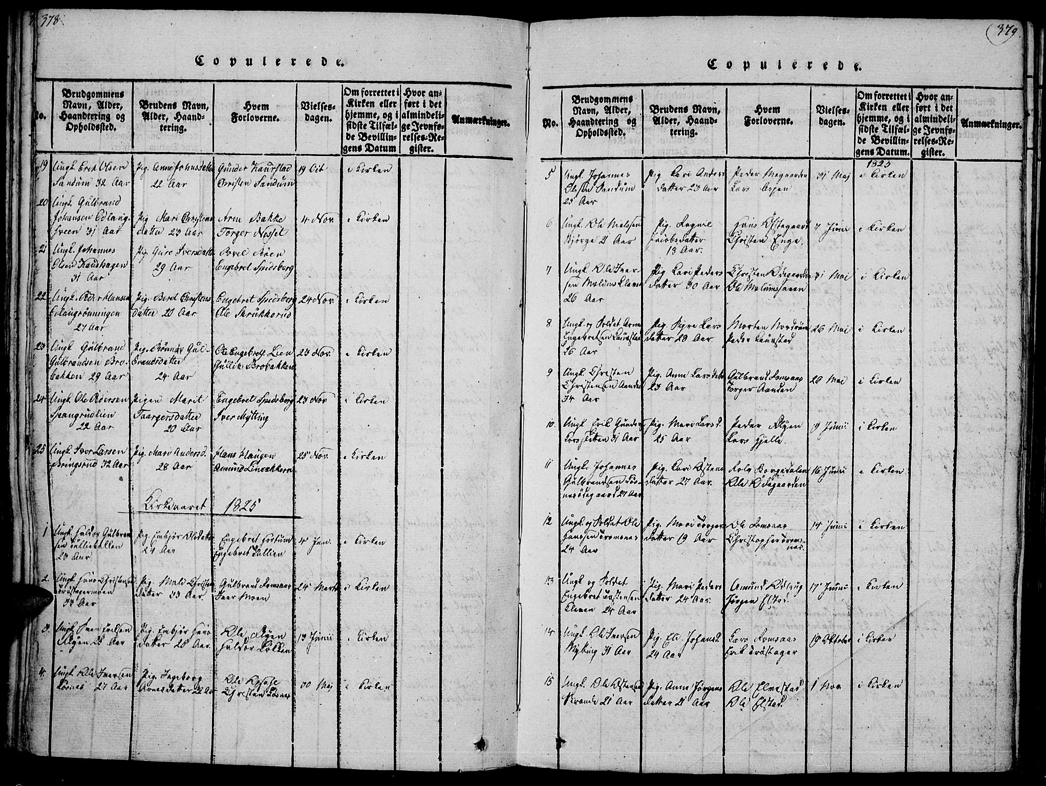 SAH, Ringebu prestekontor, Ministerialbok nr. 4, 1821-1839, s. 378-379