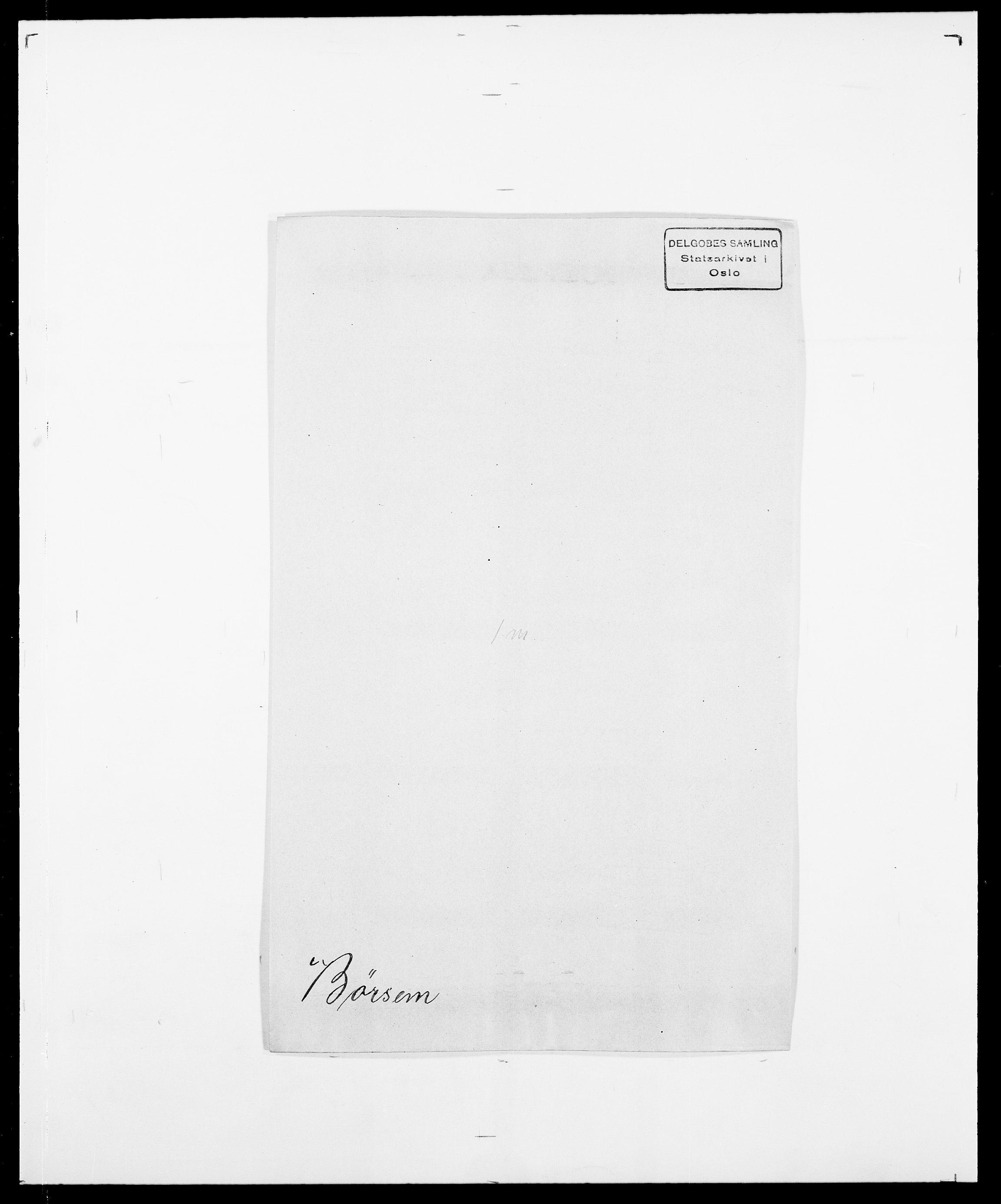 SAO, Delgobe, Charles Antoine - samling, D/Da/L0007: Buaas - Caphengst, s. 784