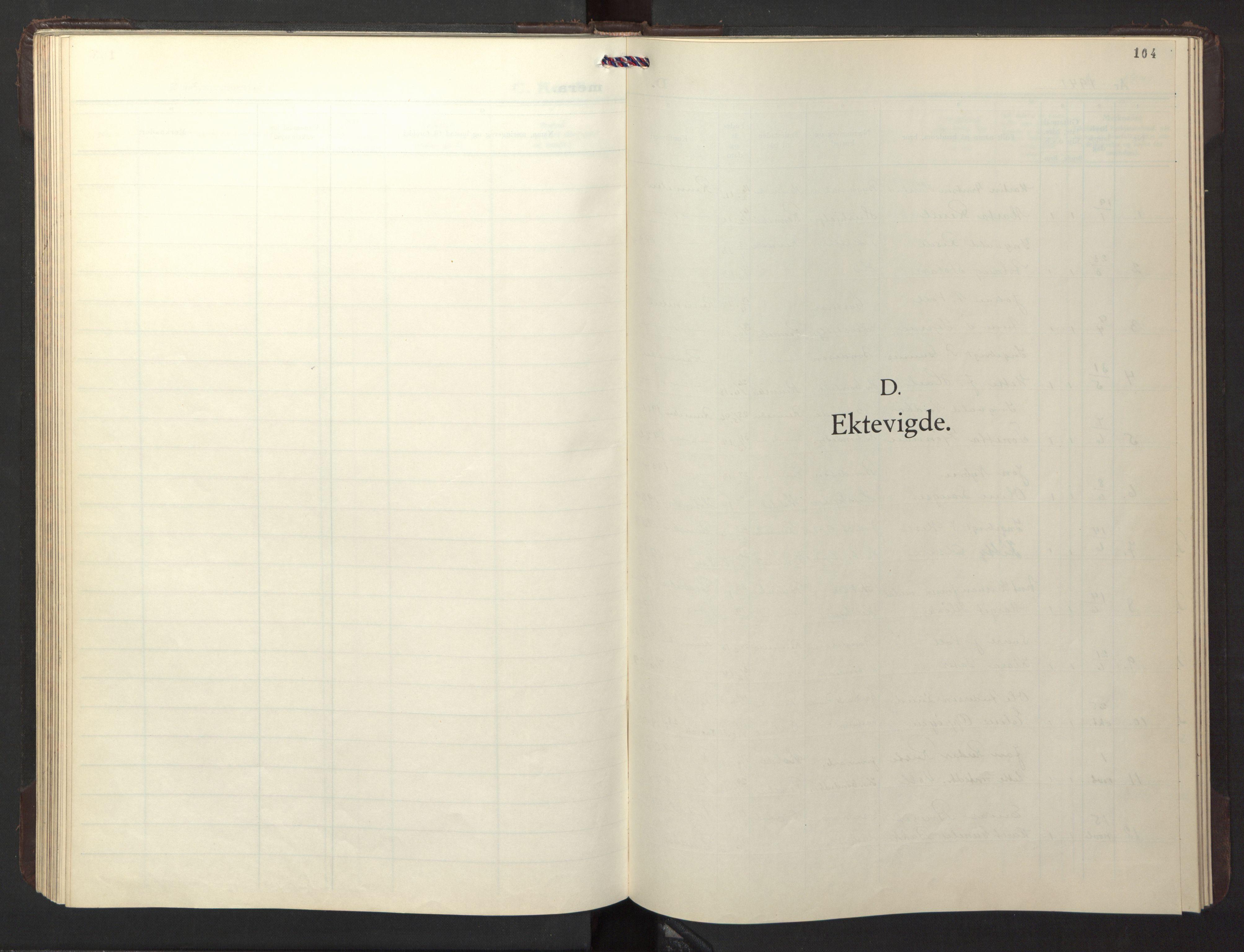 SAT, Ministerialprotokoller, klokkerbøker og fødselsregistre - Sør-Trøndelag, 674/L0878: Klokkerbok nr. 674C05, 1941-1950, s. 104
